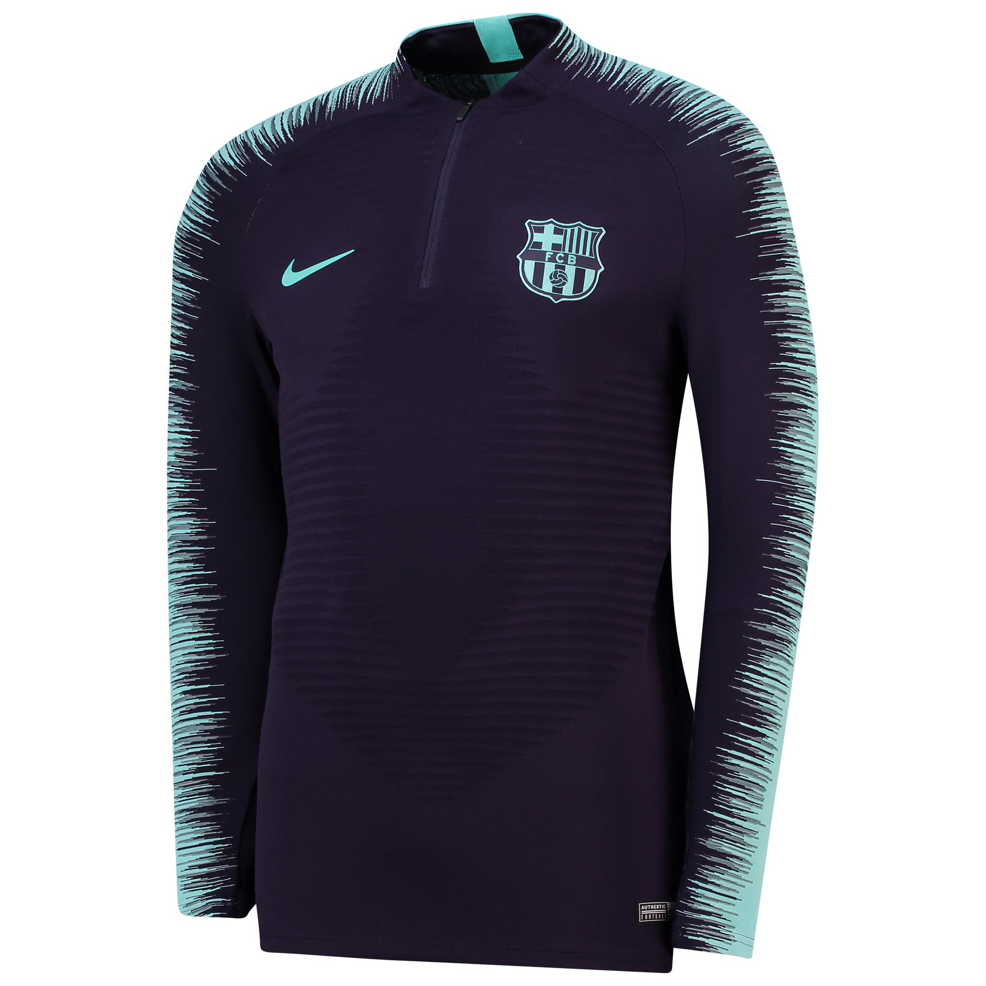 Camiseta de entrenamiento Strike VaporKnit Drill del Barcelona en morado