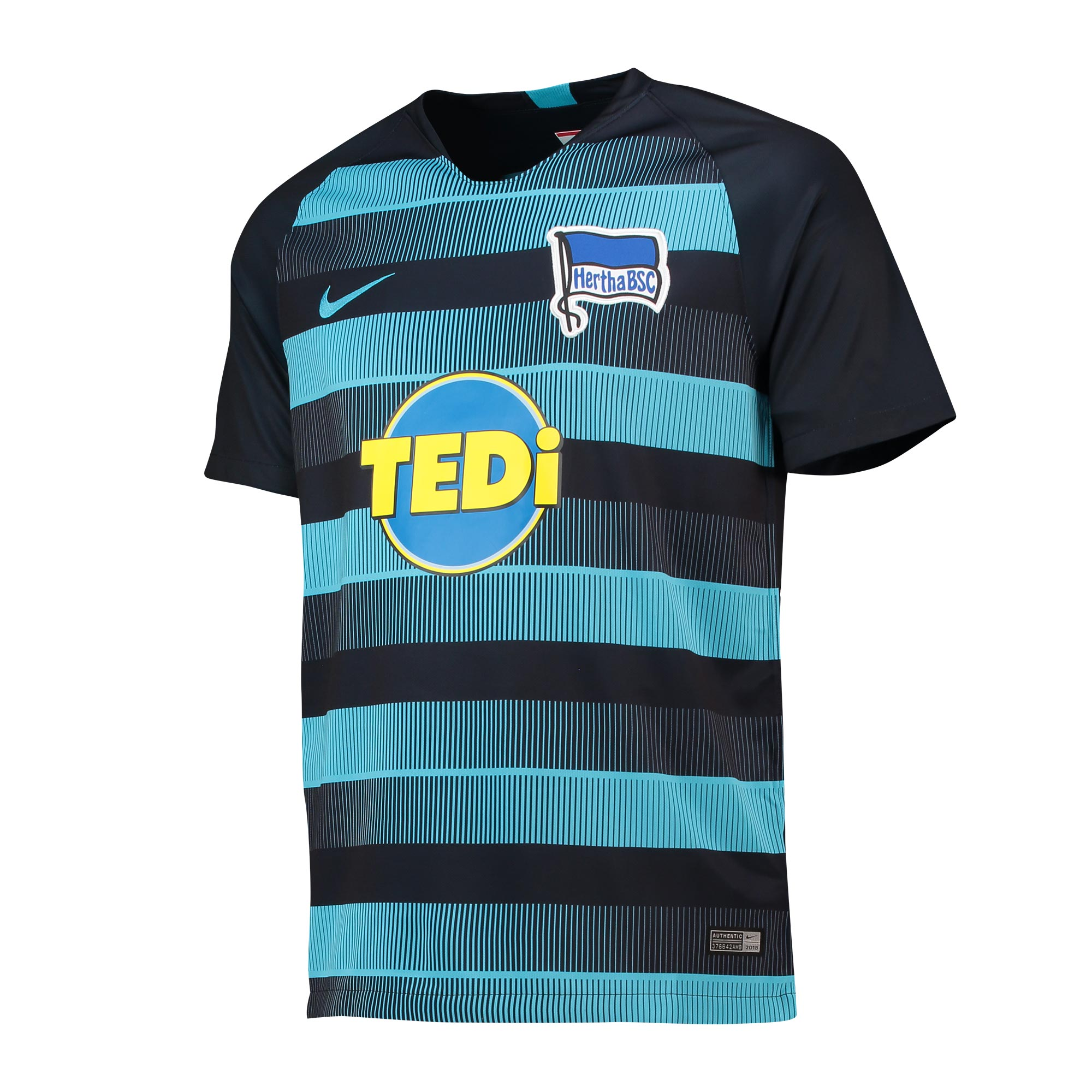 Hertha Berlin Away Stadium Shirt 2018-19