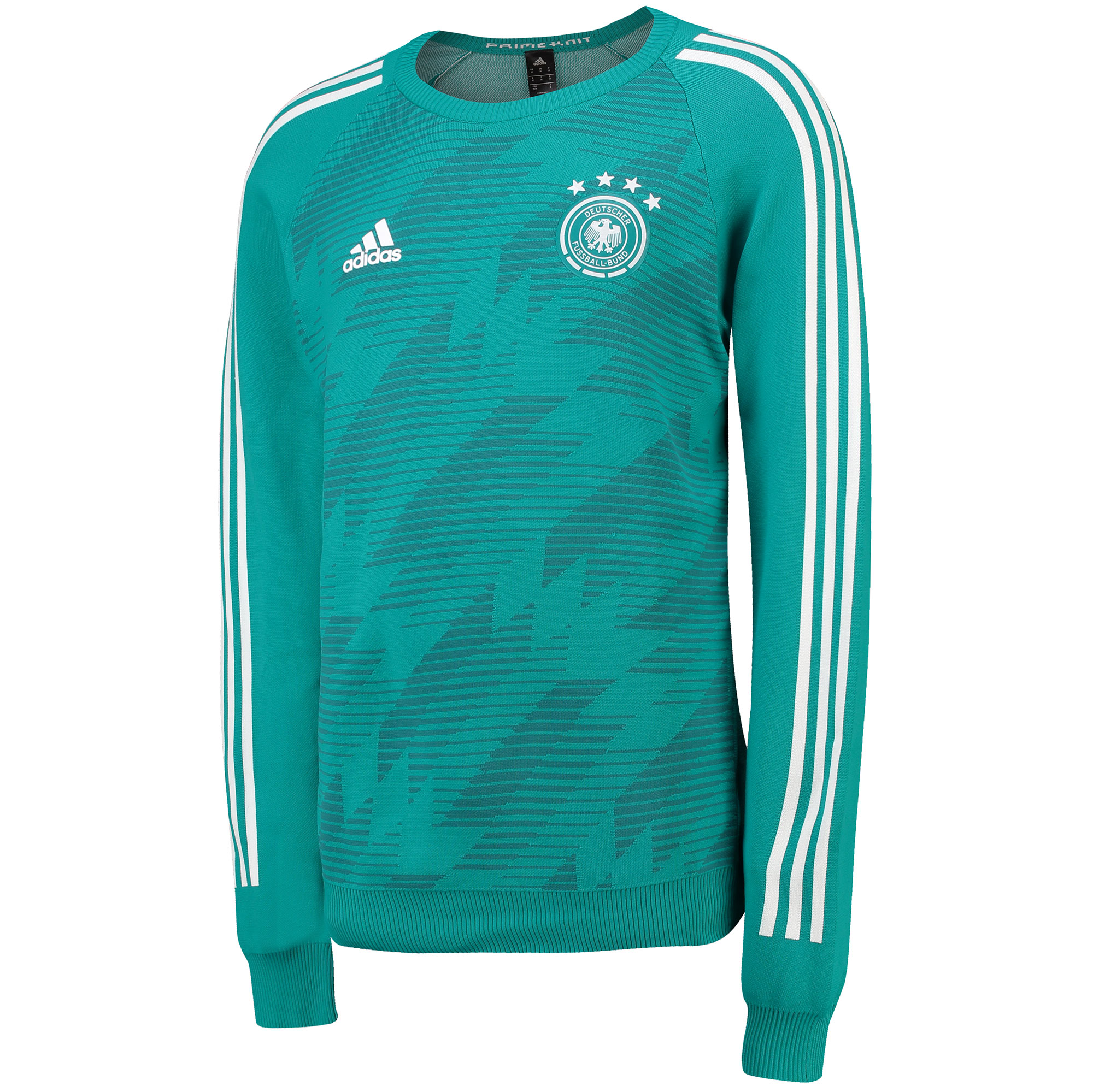 Germany Knitted Away Shirt 2018 - Long Sleeve