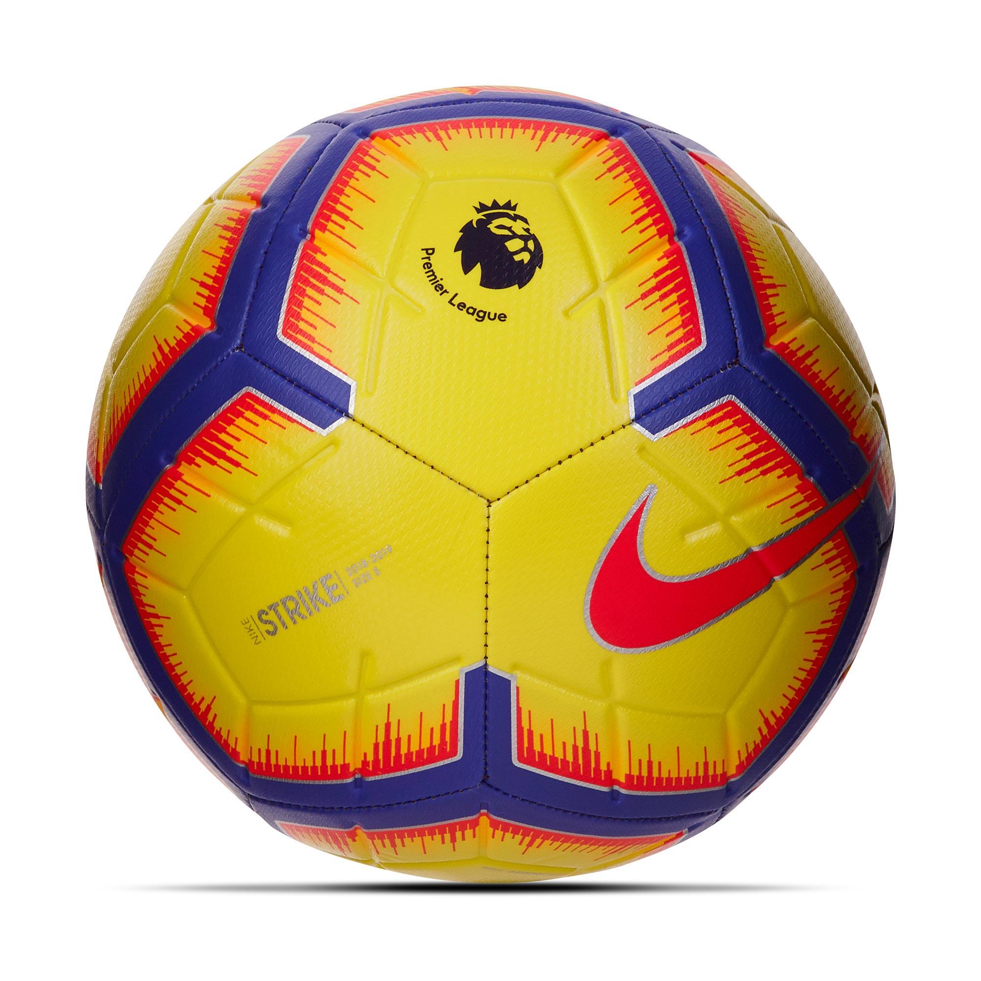 Nike Premier League Strike Football - Yellow - Size 5