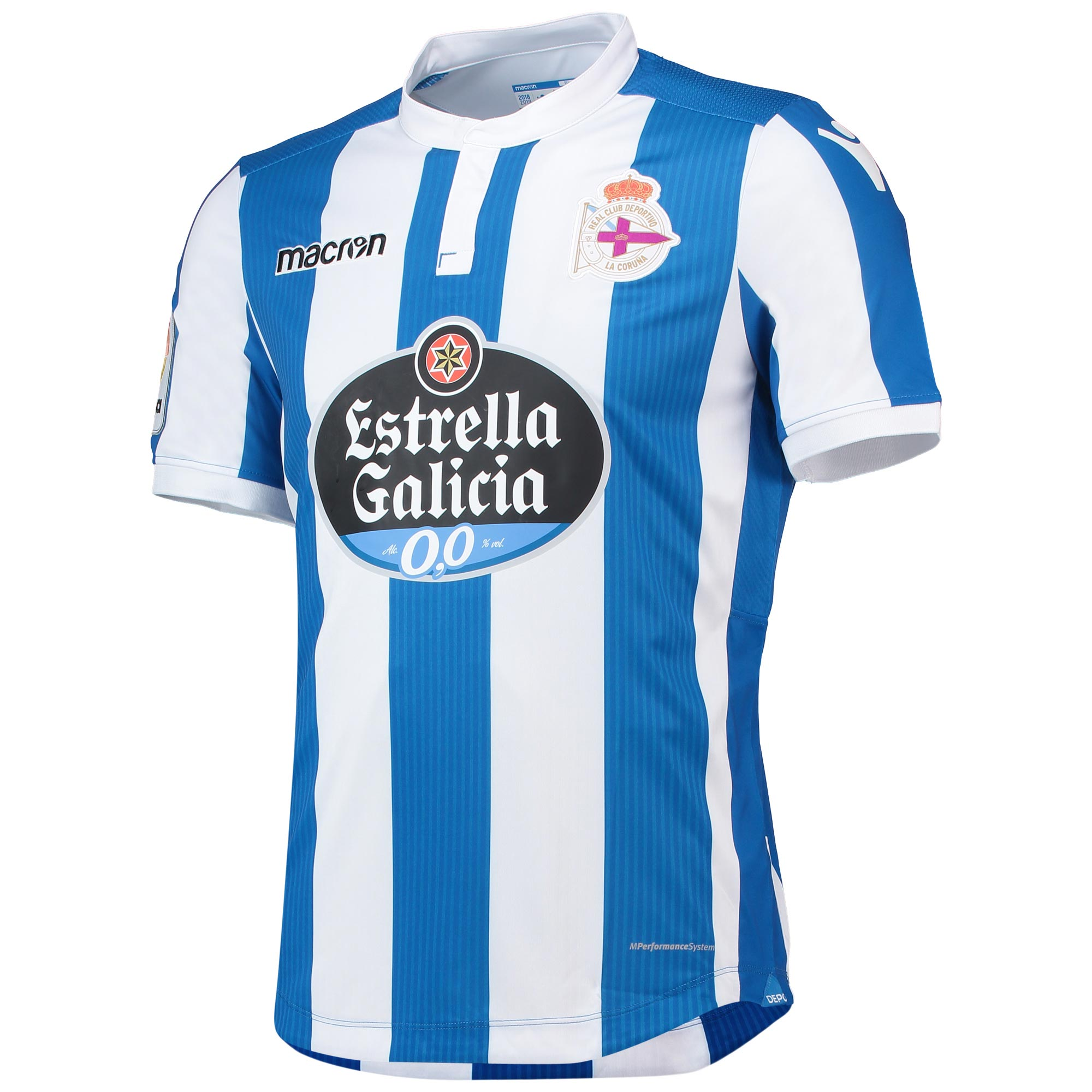 Deportivo La Coruna Home Shirt 2018-19