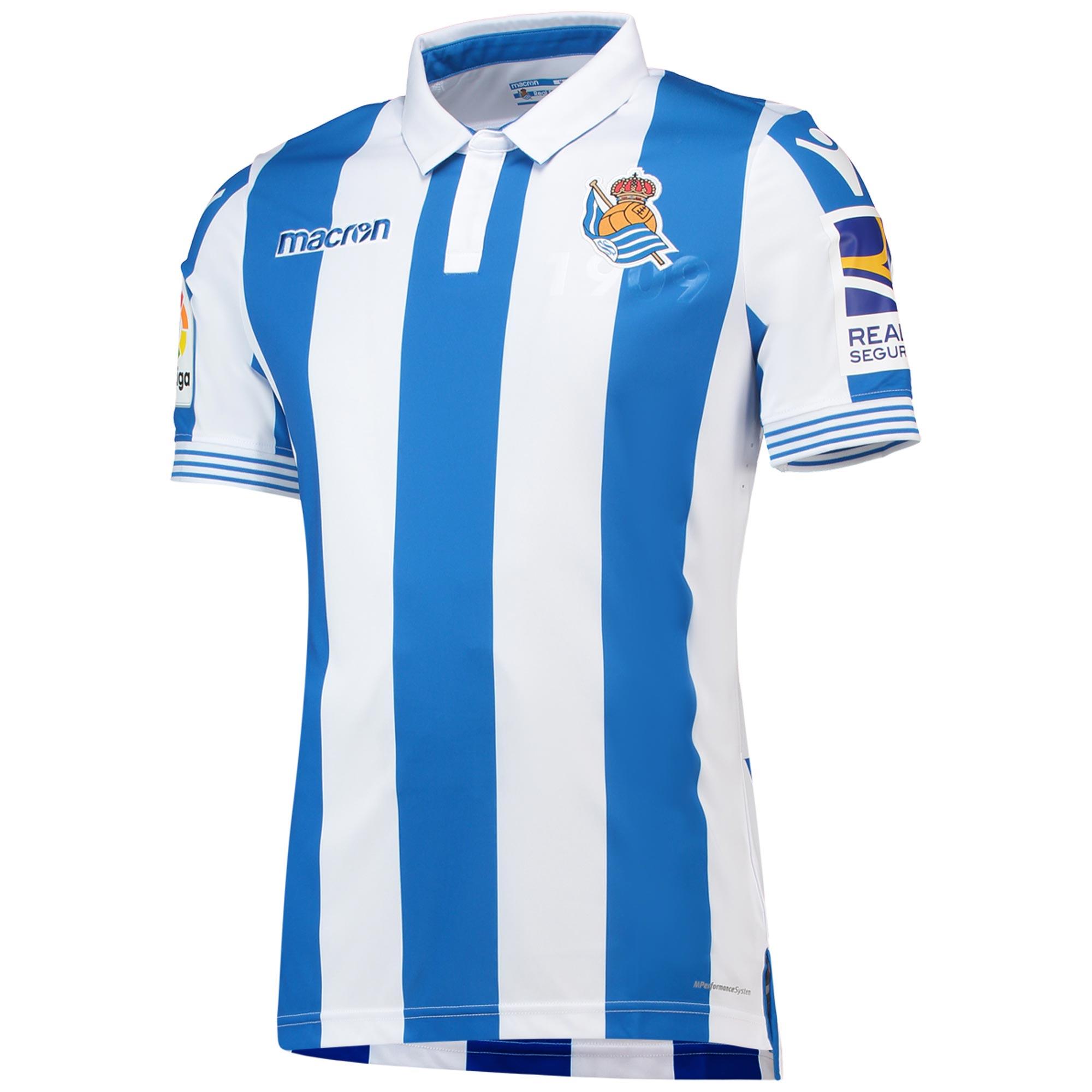 Real Sociedad Home Shirt 2018-19