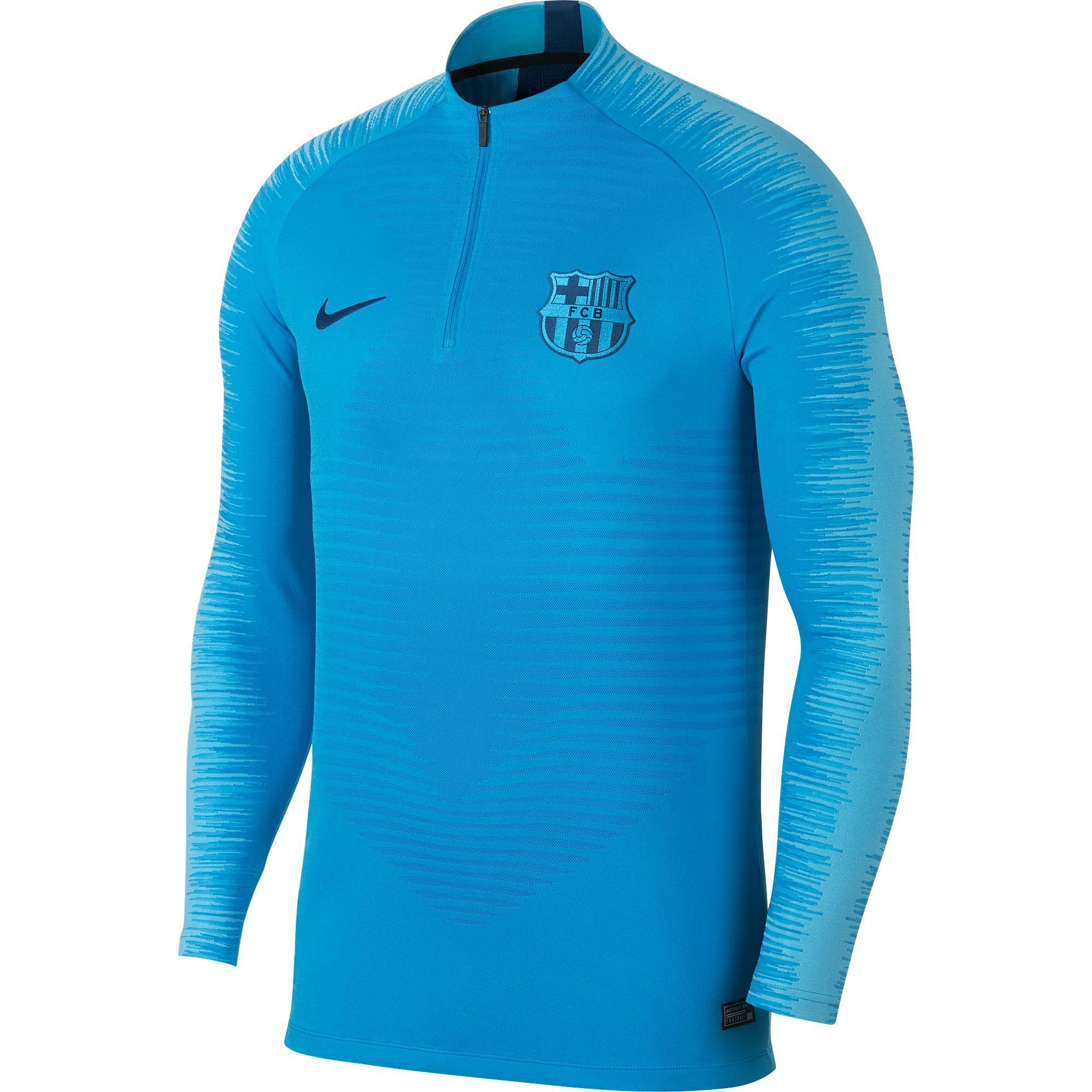 Camiseta de entrenamiento VaporKnit Strike Drill del Barcelona en azul