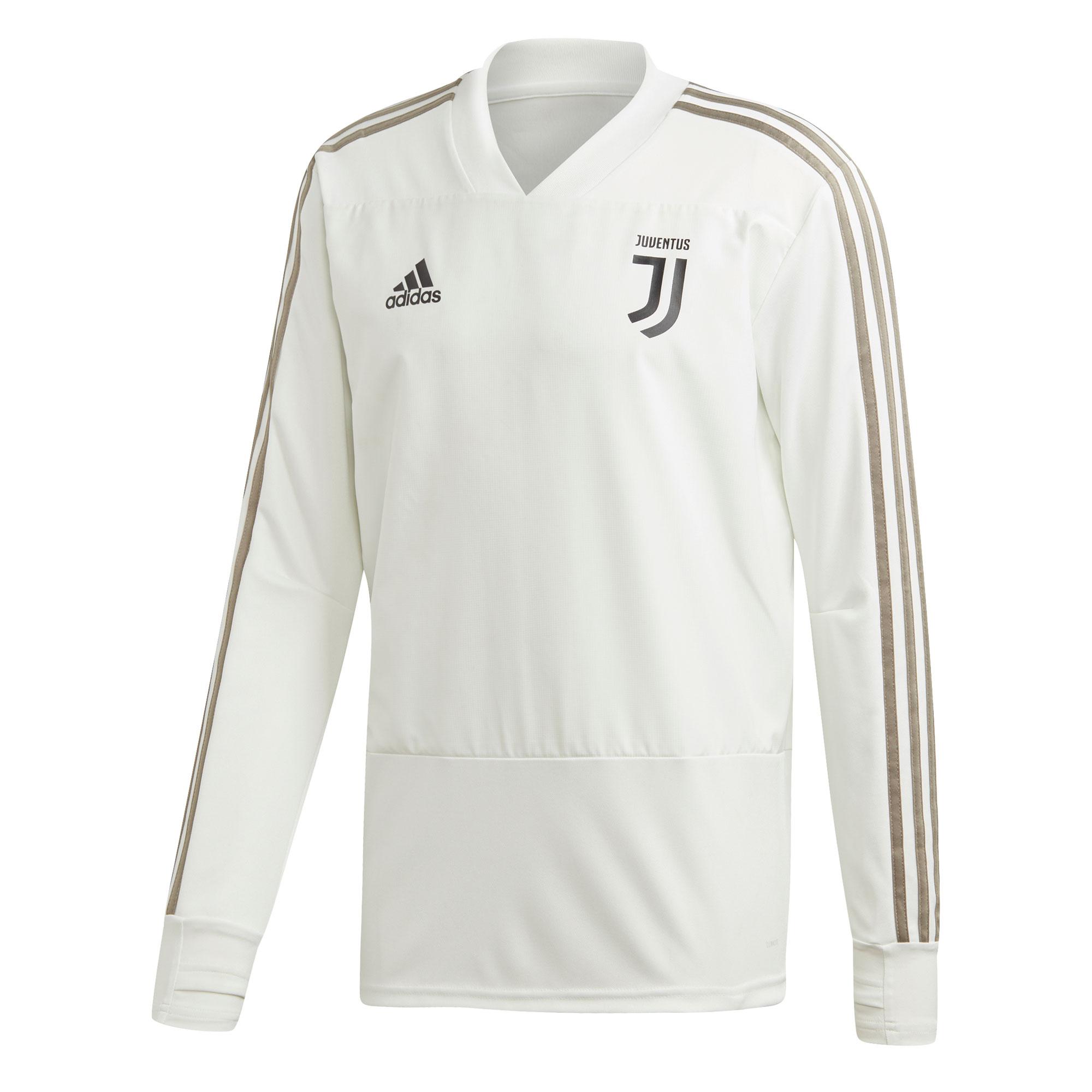 Adidas / Camiseta de entrenamiento de la Juventus en blanco
