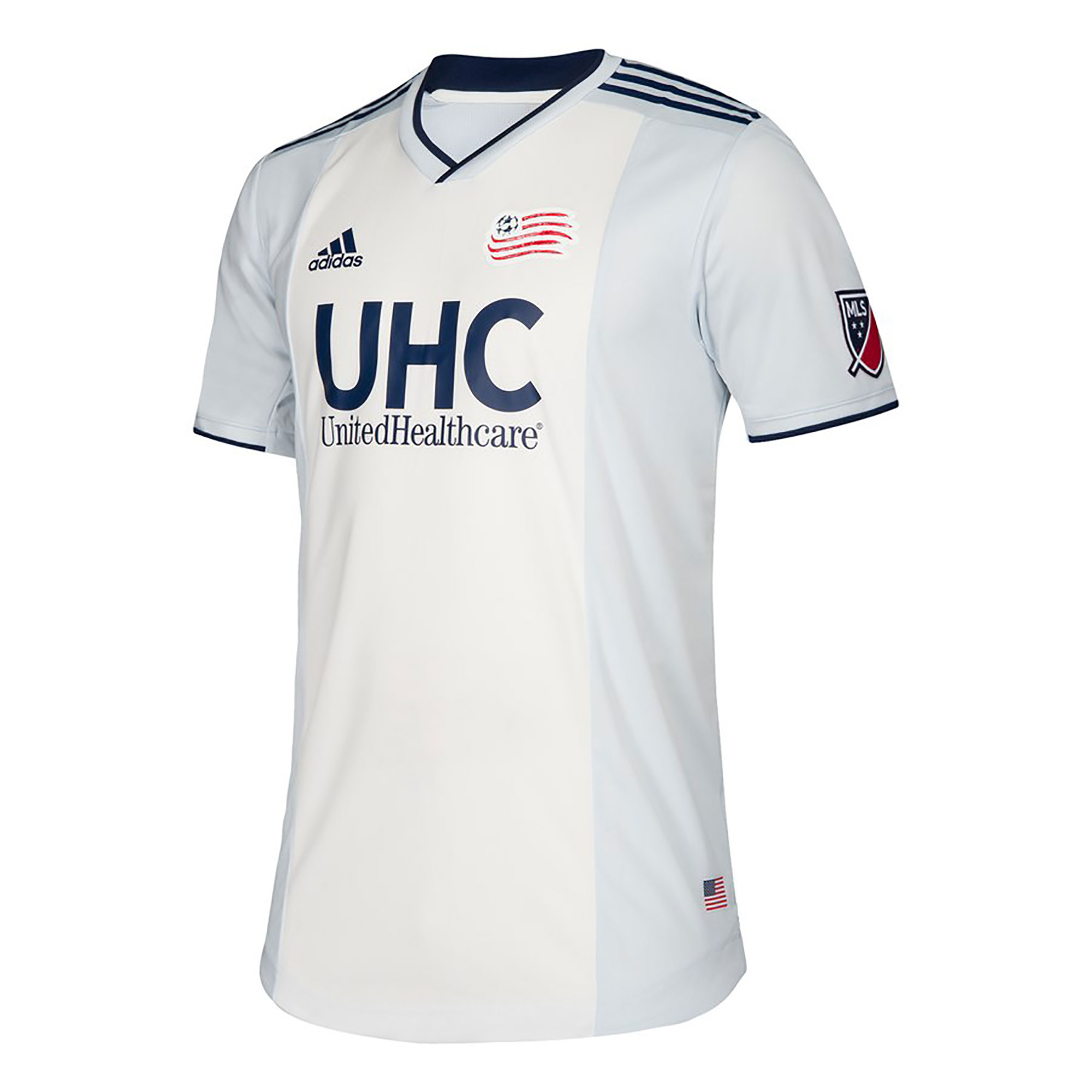 a87804836ff adidas New England Revolution Mens SS Player Issue Away Shirt 2019