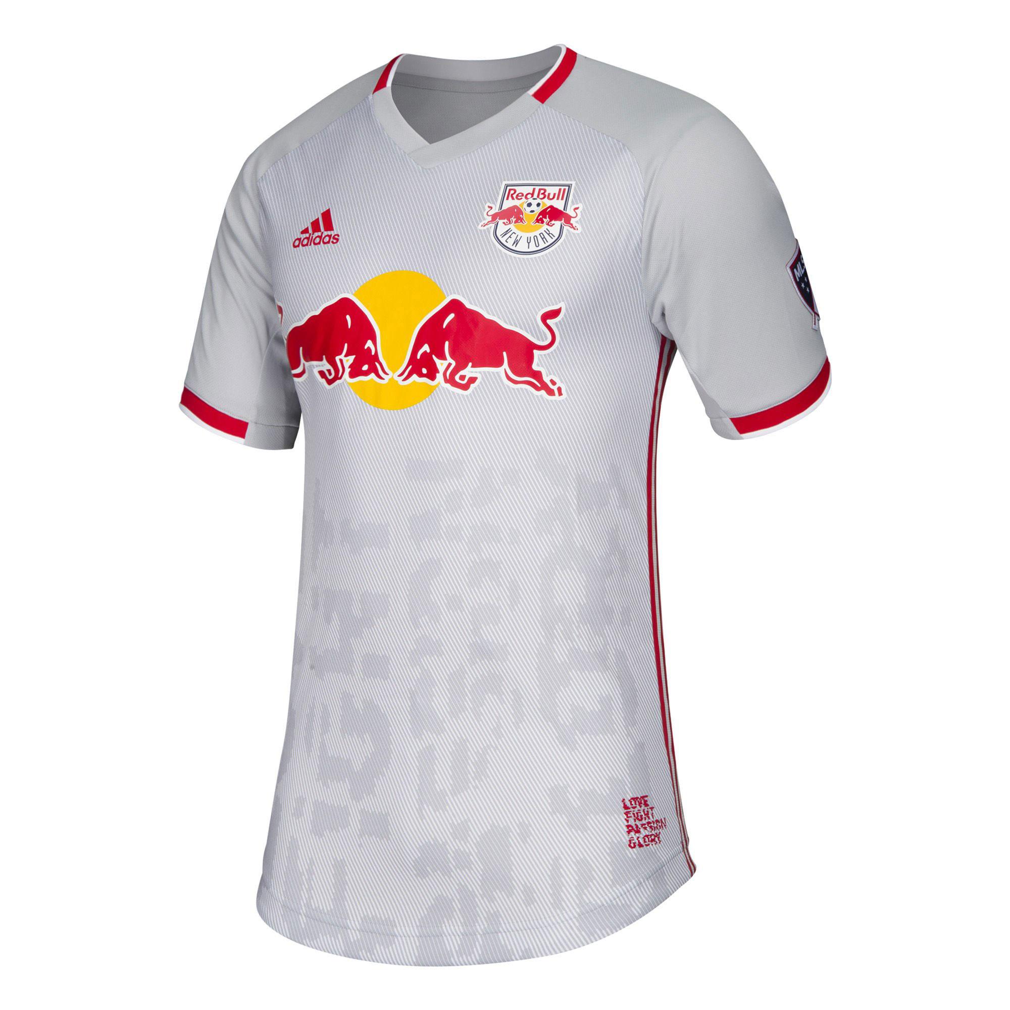 New York Red Bulls Primary Authentic Shirt 2019