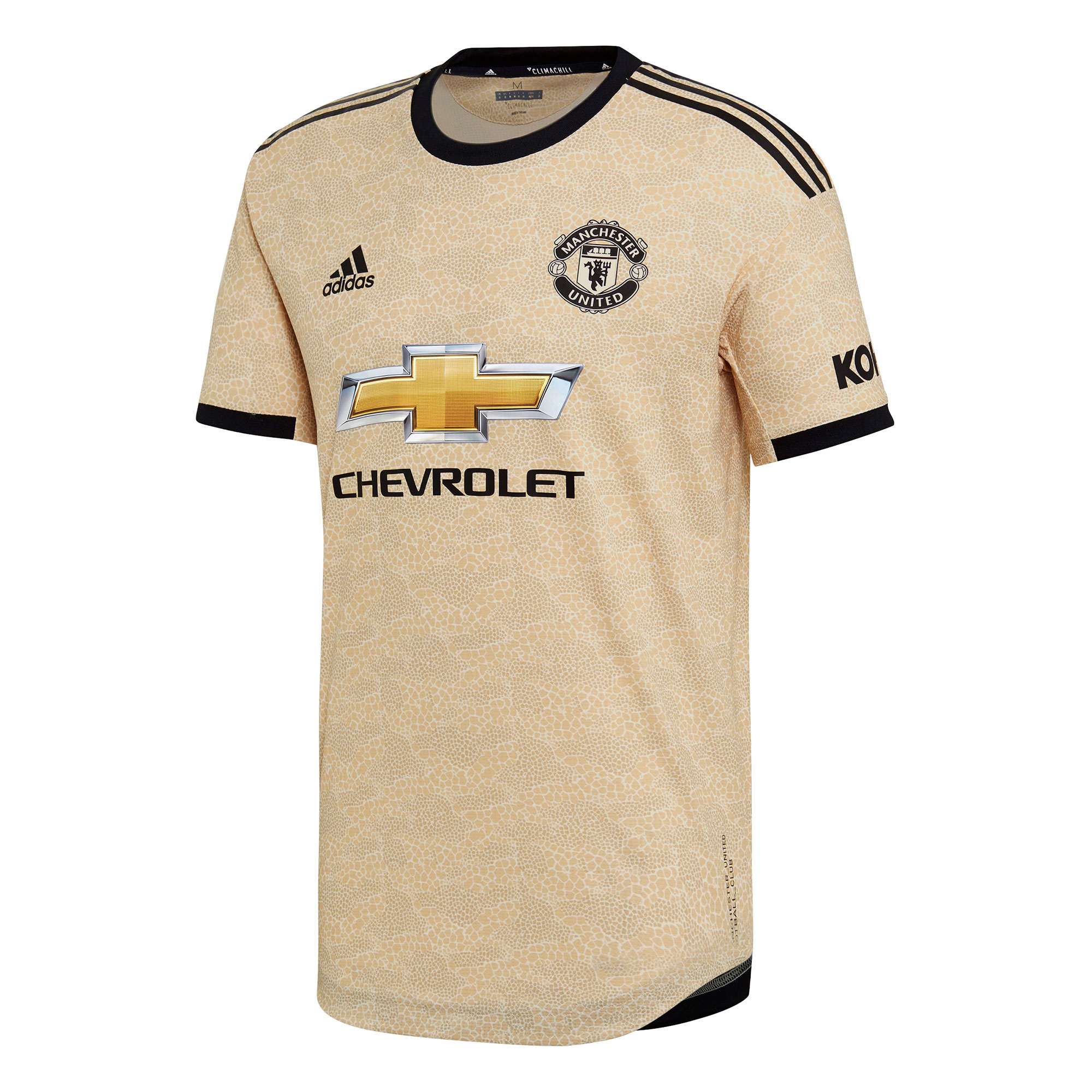 Manchester United Away Authentic Shirt 2019 - 20
