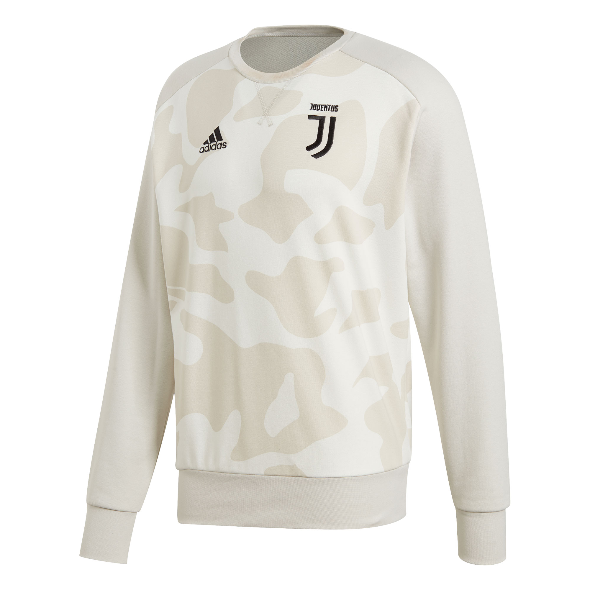 Adidas / Sudadera de temporada de la plantilla de la Juventus - blanco camo