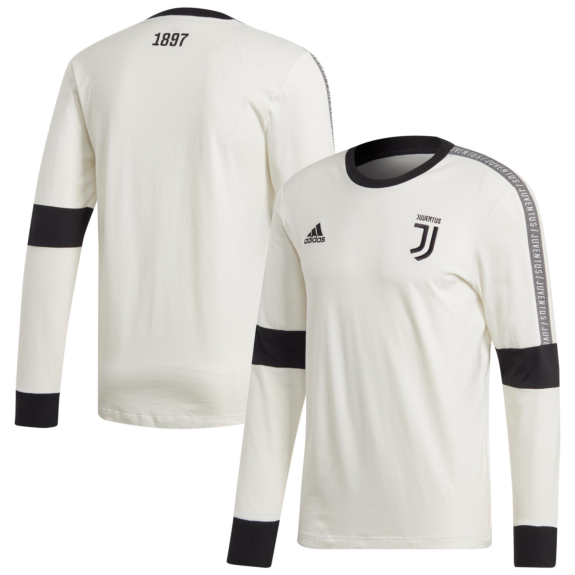 Adidas / Camiseta de manga larga de temporada de la Juventus - blanco