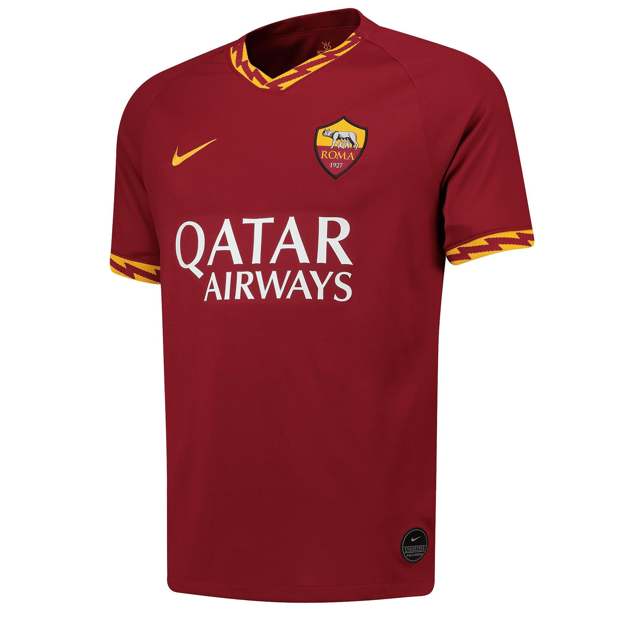 AS Roma Home Stadium Shirt 2019-20