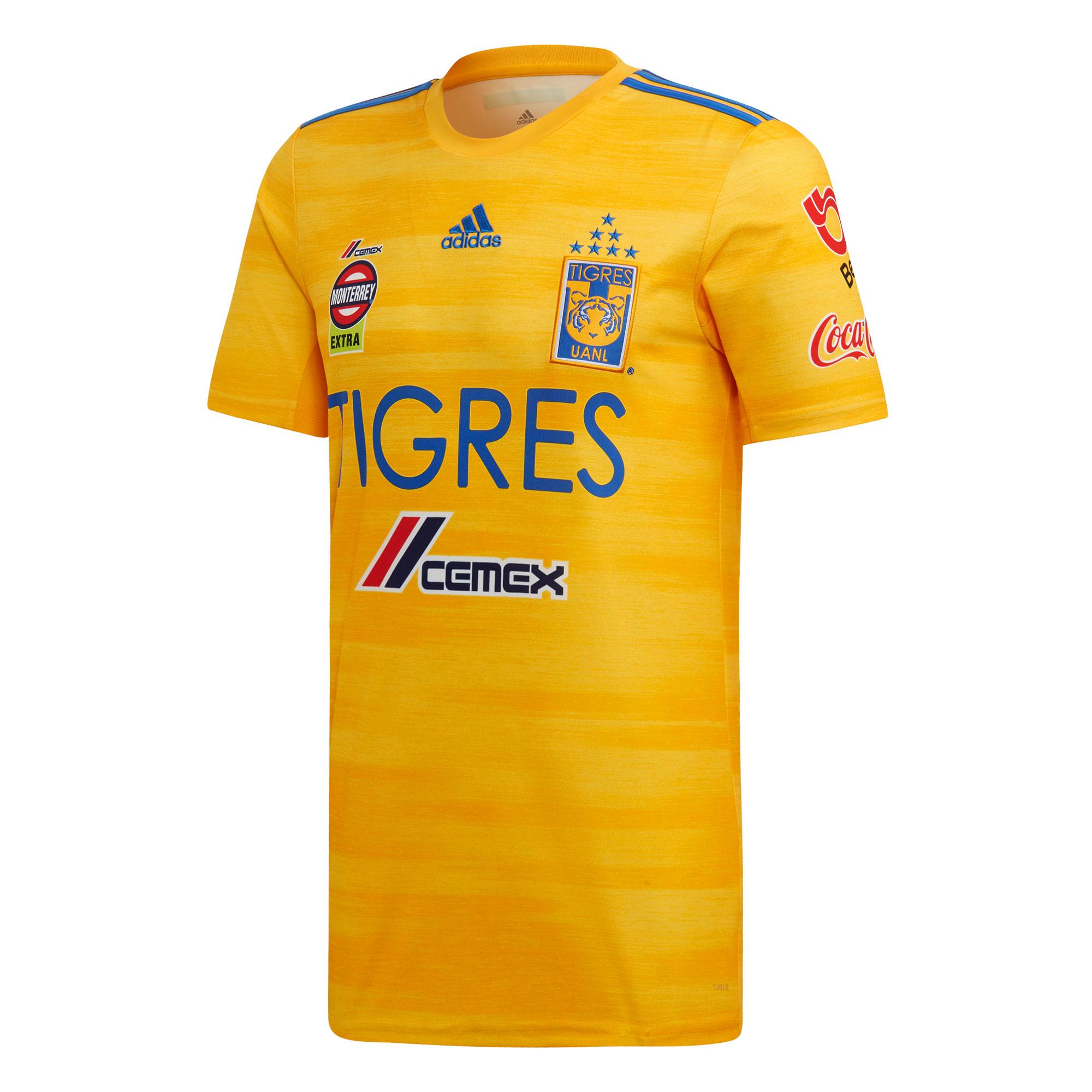 Tigres UANL Home Shirt 2019-20