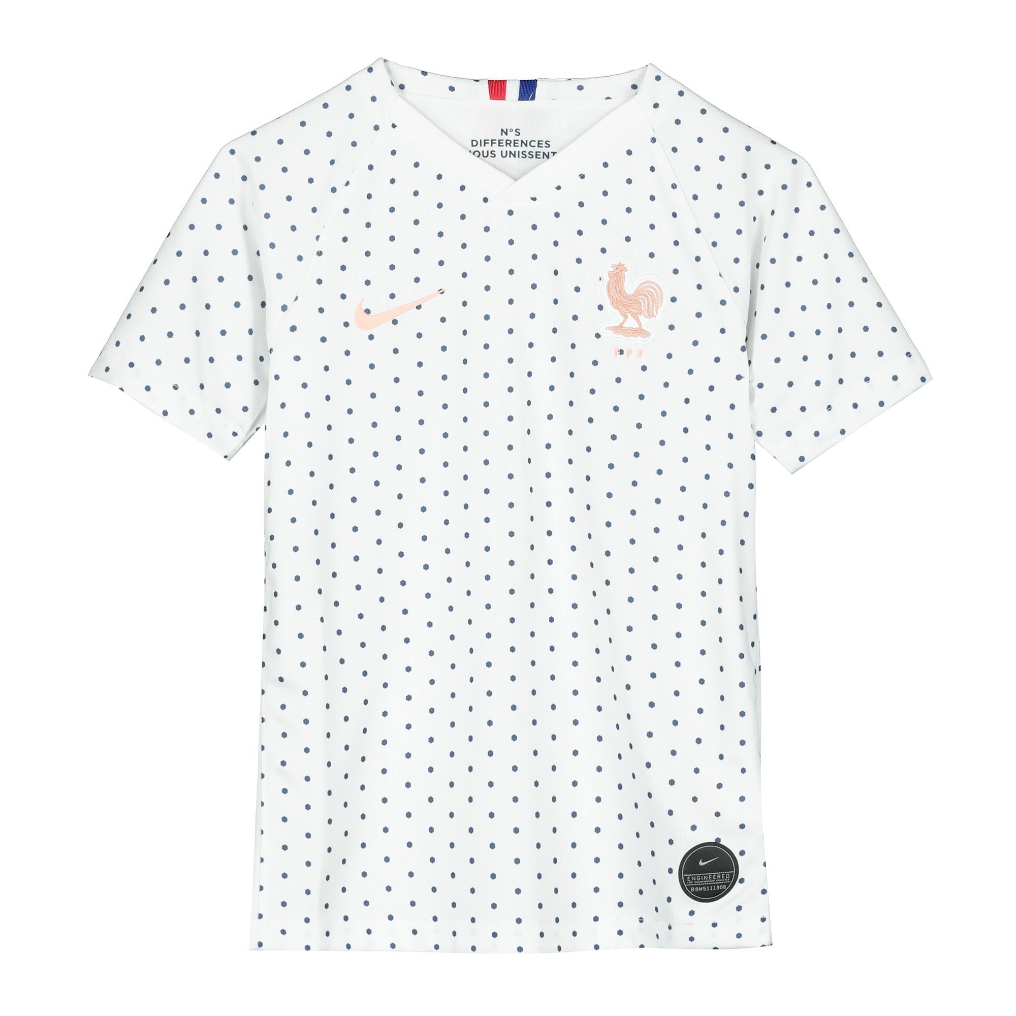 France Away Stadium Shirt 2019-20 - Kid's