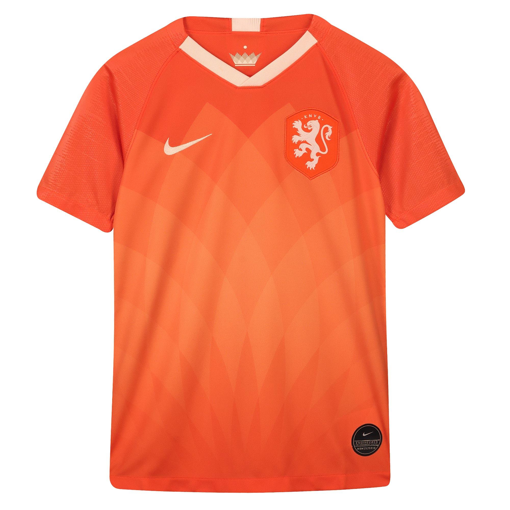 Netherlands Home Stadium Shirt 2019-20- Kid's