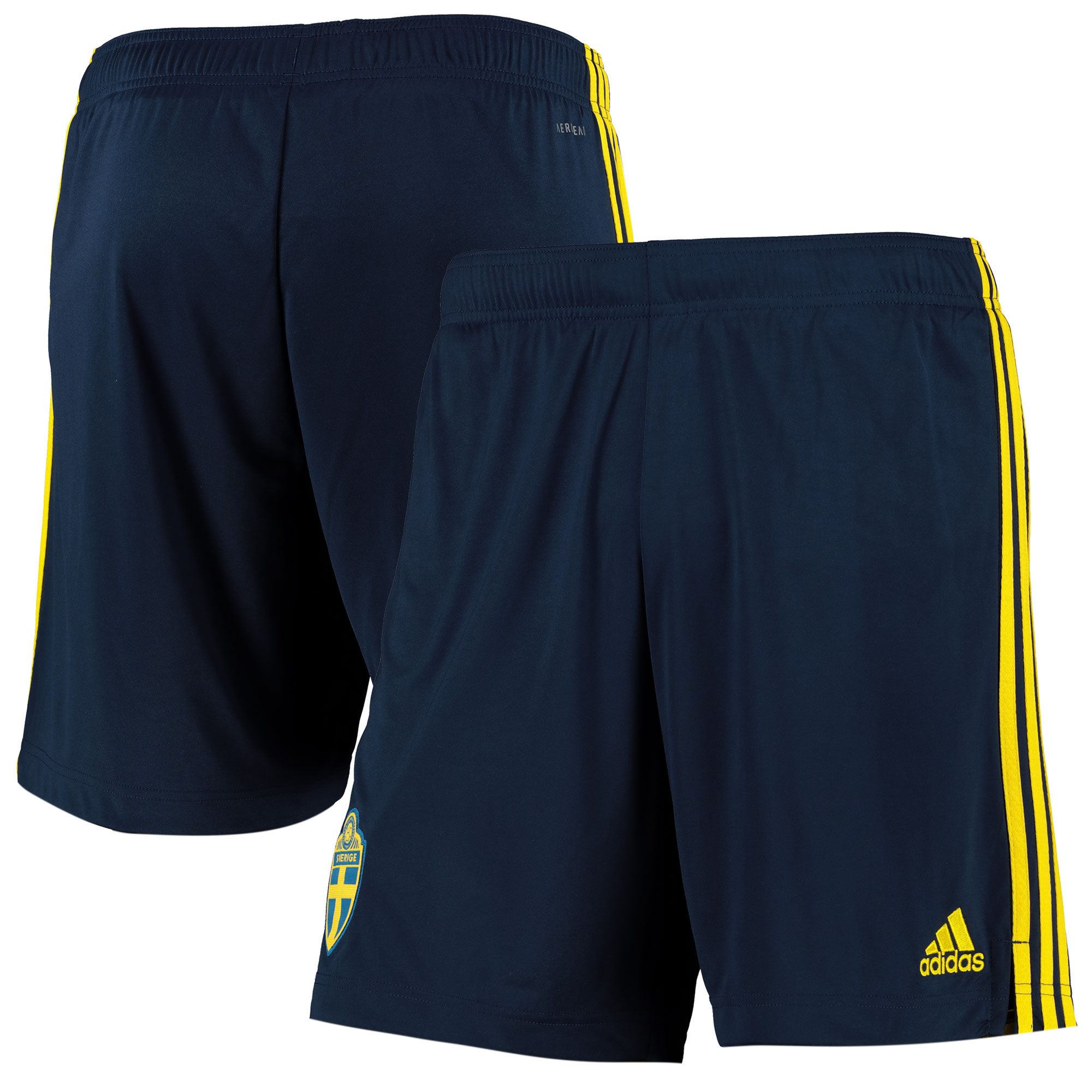 Sweden Home Shorts 2019-21