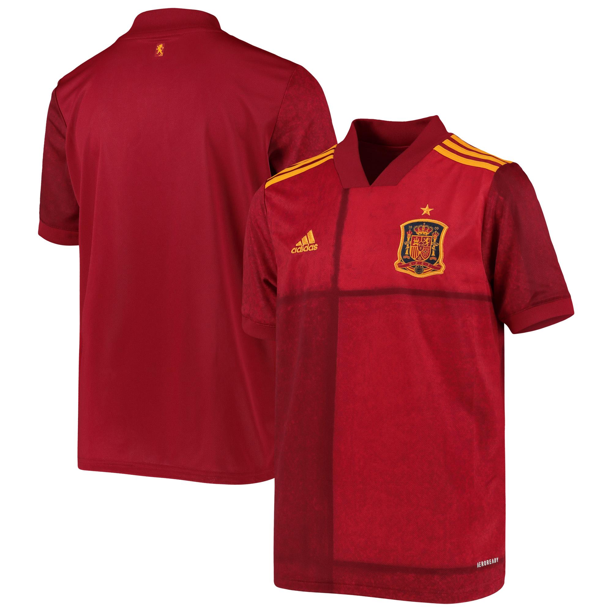Spain Home Shirt 2019-21 - Kids