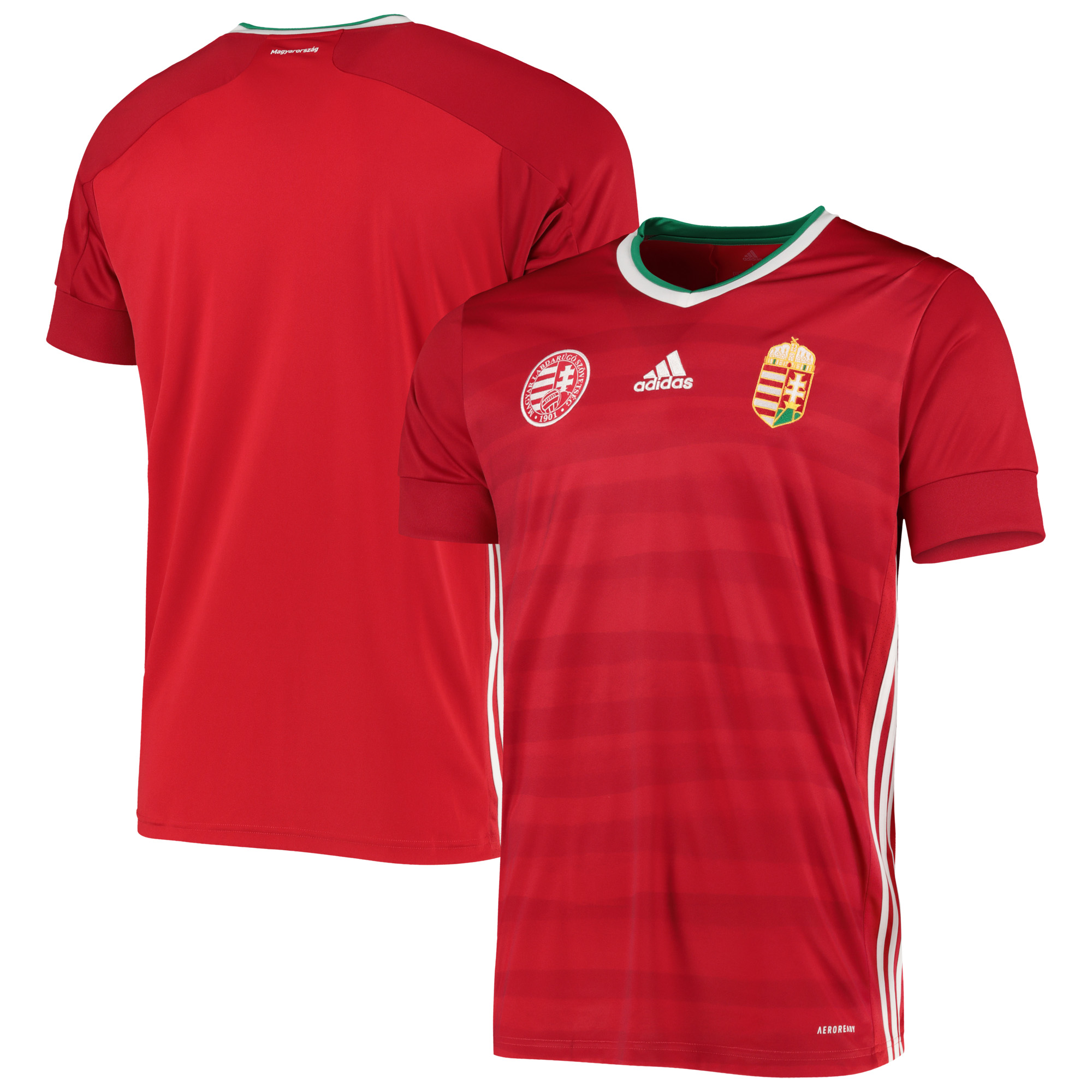 Hungary Home Shirt 2019-21
