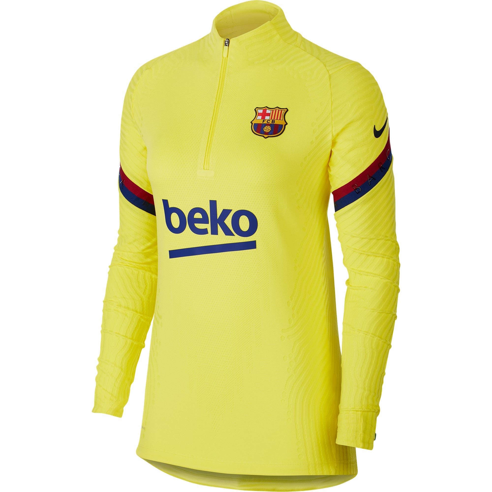 Camiseta Vaporknit Strike Drill de Nike del Barcelona - Hombre