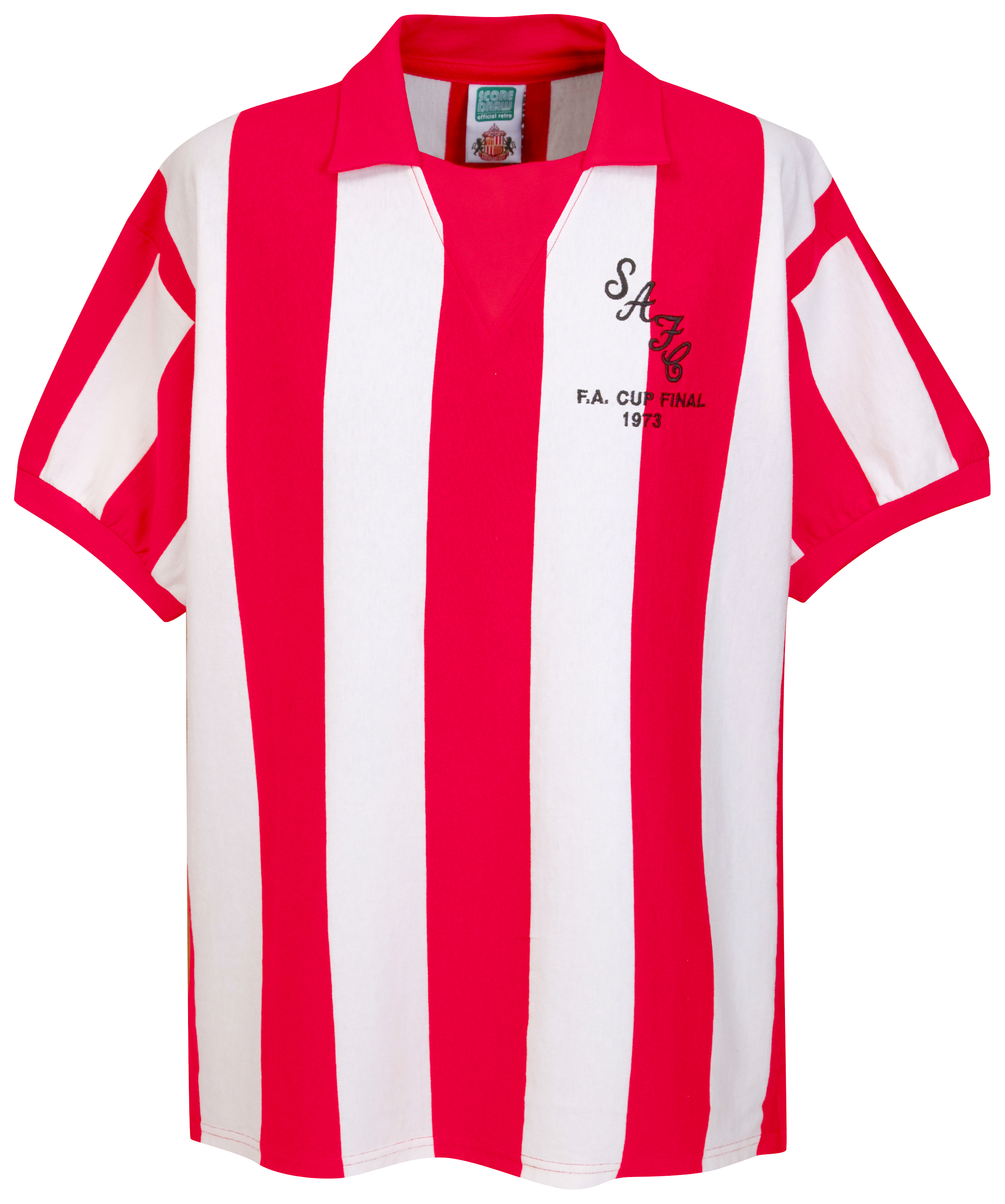 Sunderland 1973 FA Cup Final Shirt