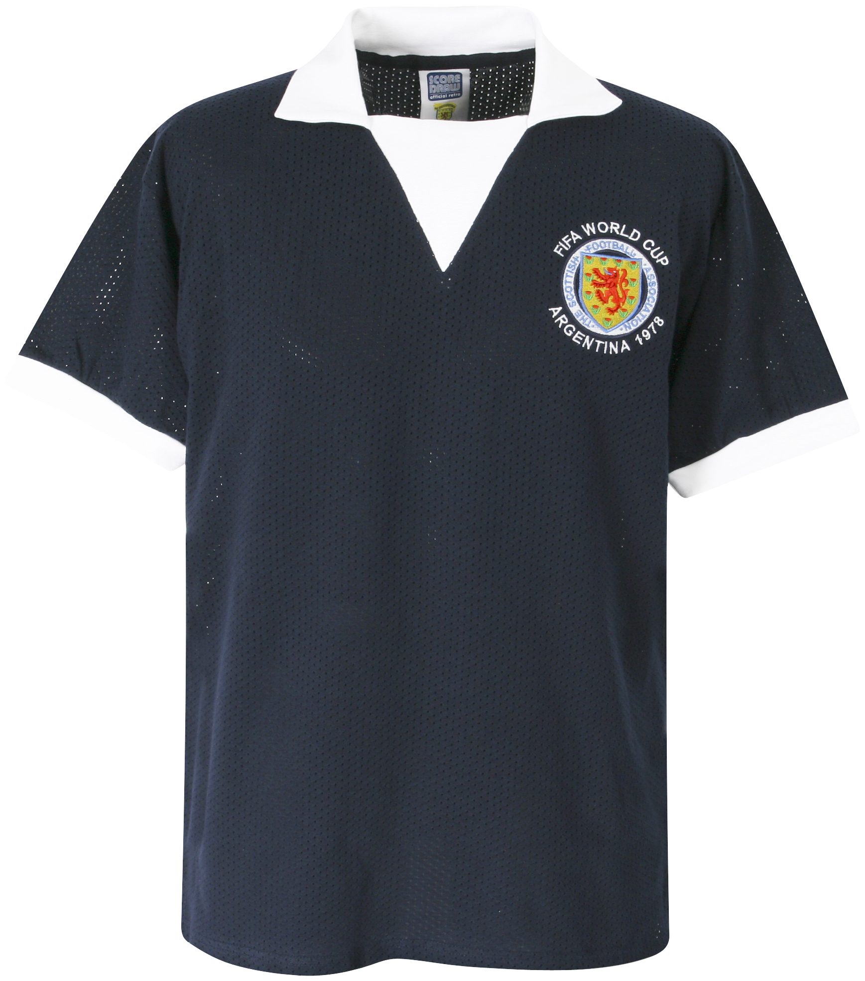 Scotland 1978 World Cup Retro Shirt