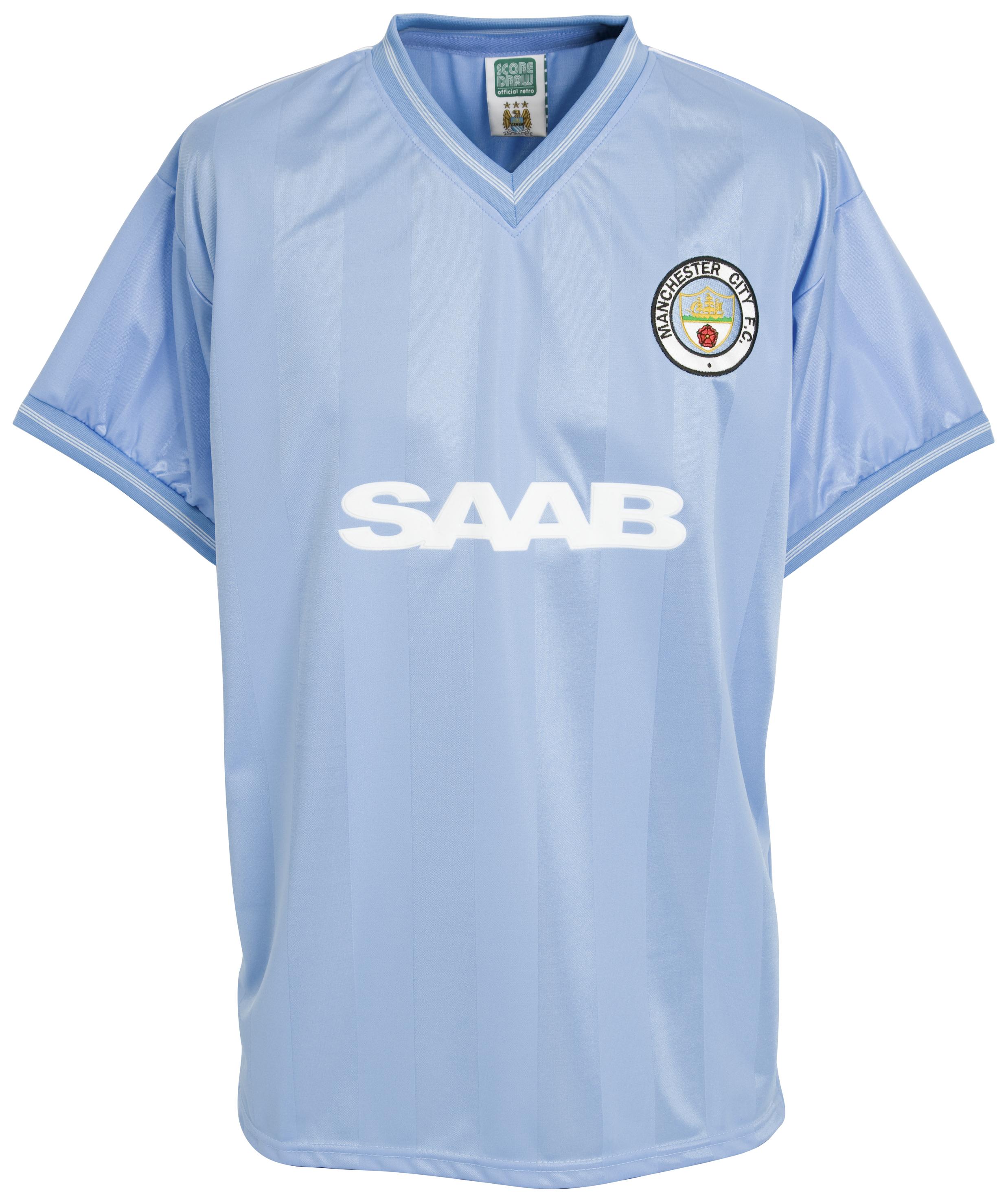 Manchester City 1984 Shirt