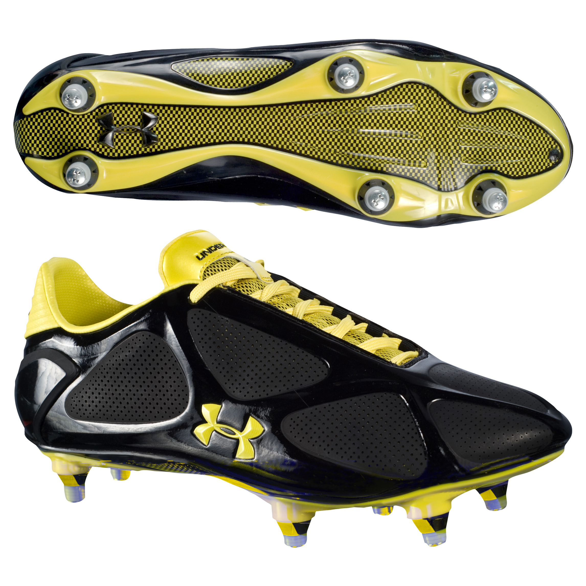 Under Armour Create Pro Soft Ground Football Boots -Bla