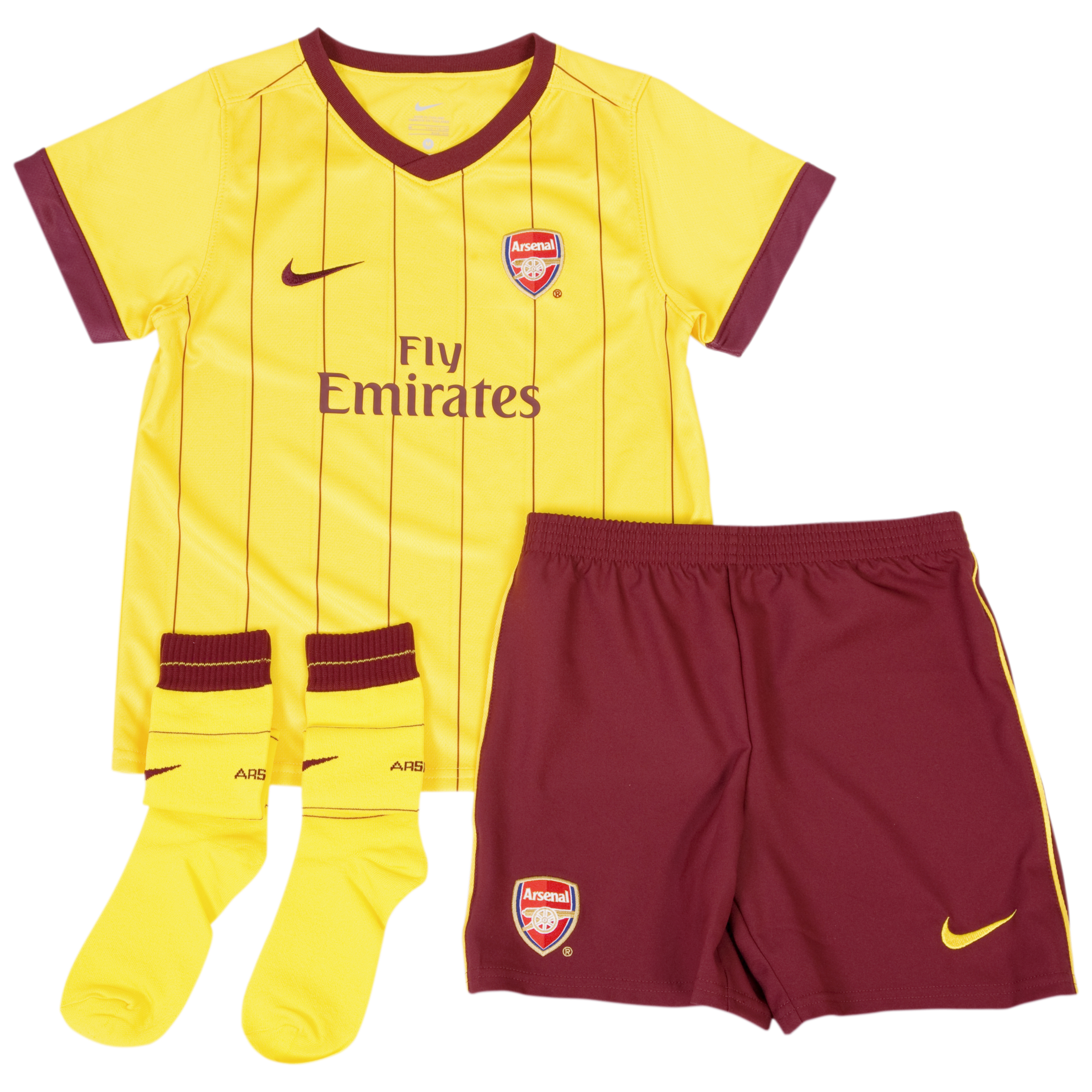 Arsenal Away Kit 2010/11 - Little Kids