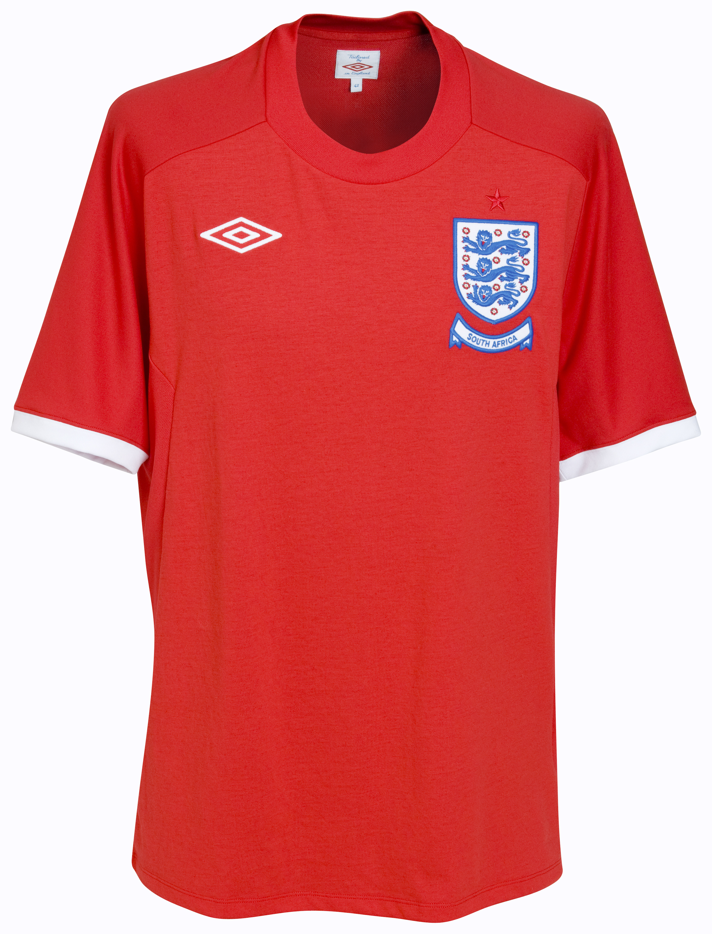 England Away Shirt 2010/12 Including Limited Edition Insignia - Kids
