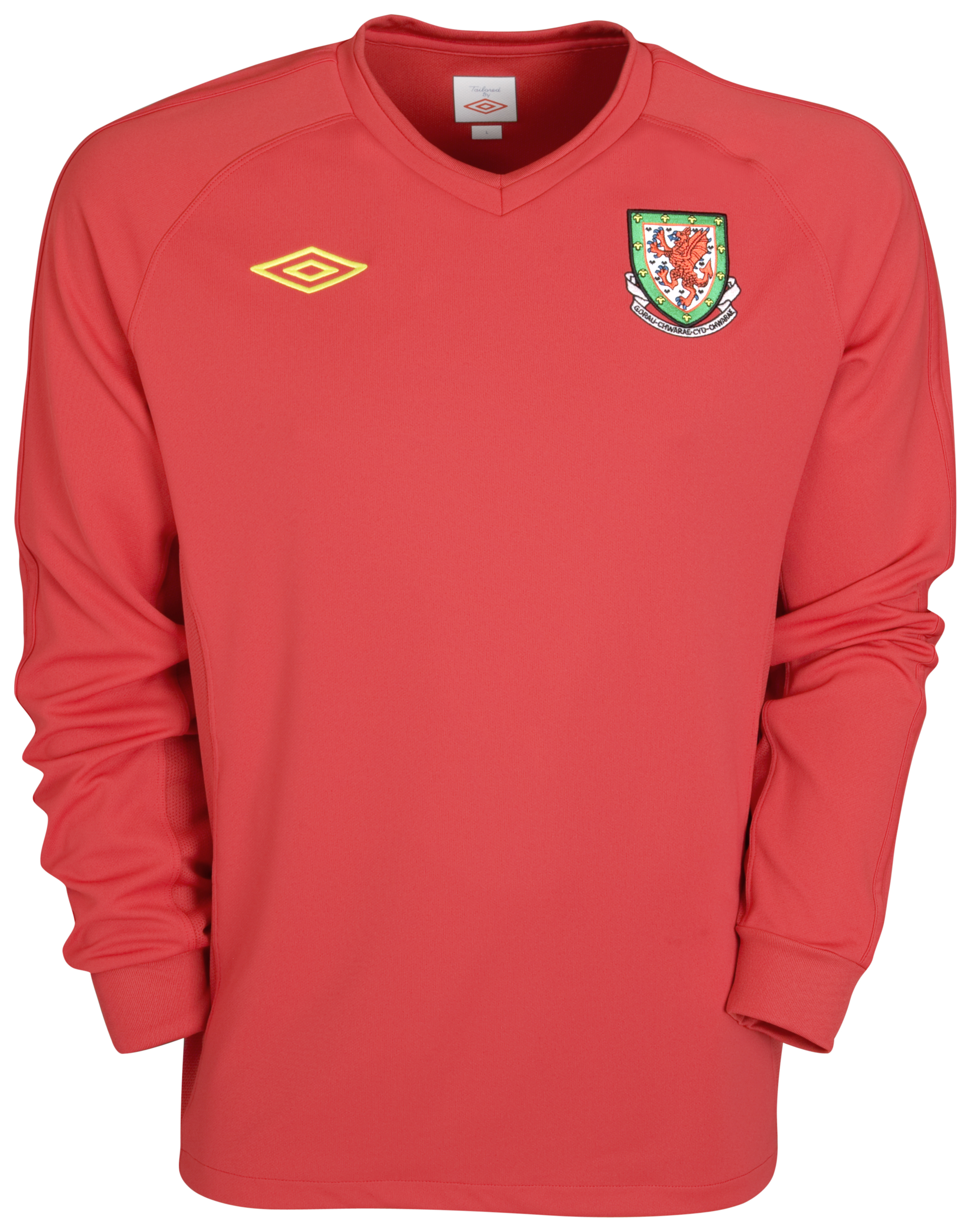Wales Home Shirt 2010/11 - Long Sleeved. for 30€