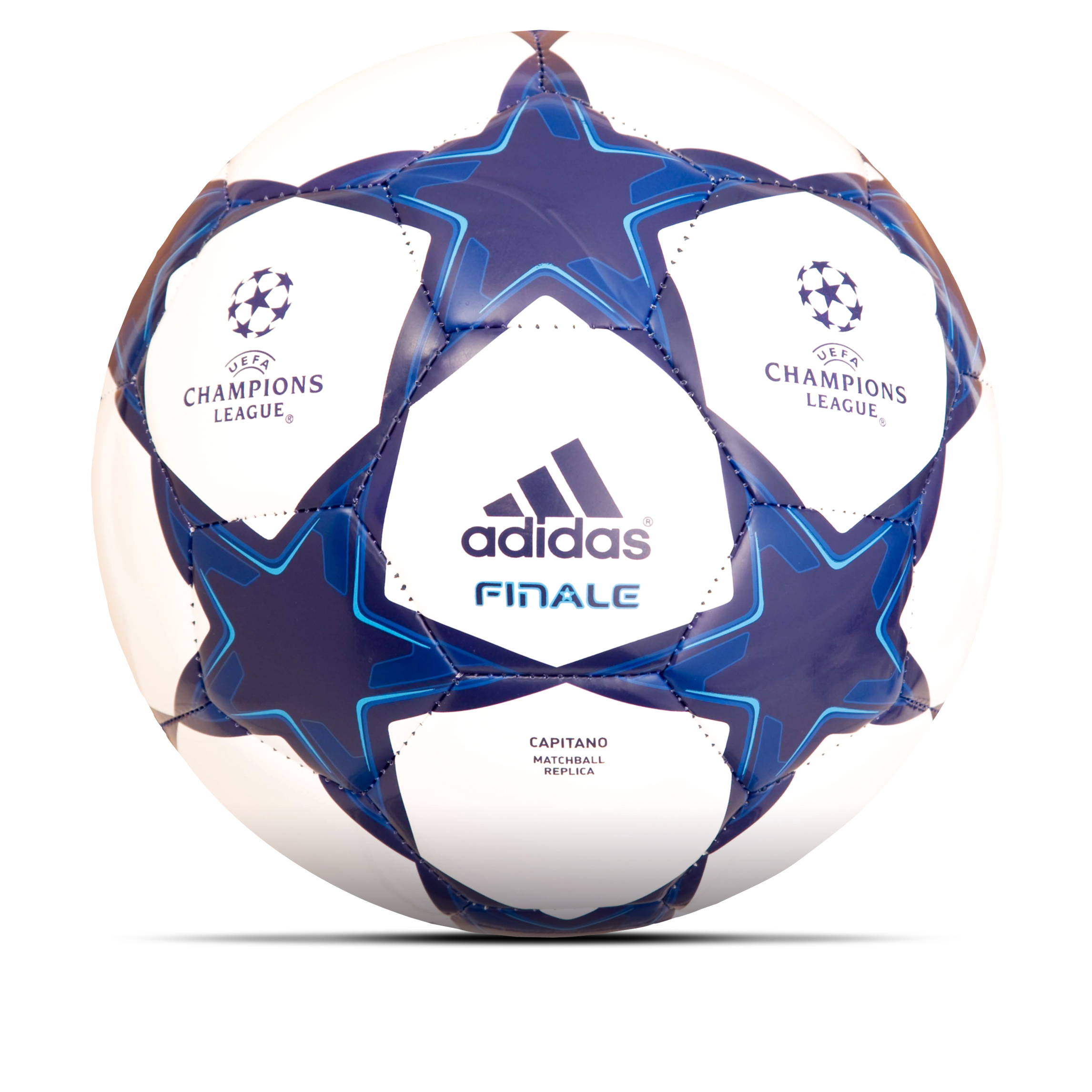 adidas Finale 10 Capitano Football - White/Night Sky/Night Sky