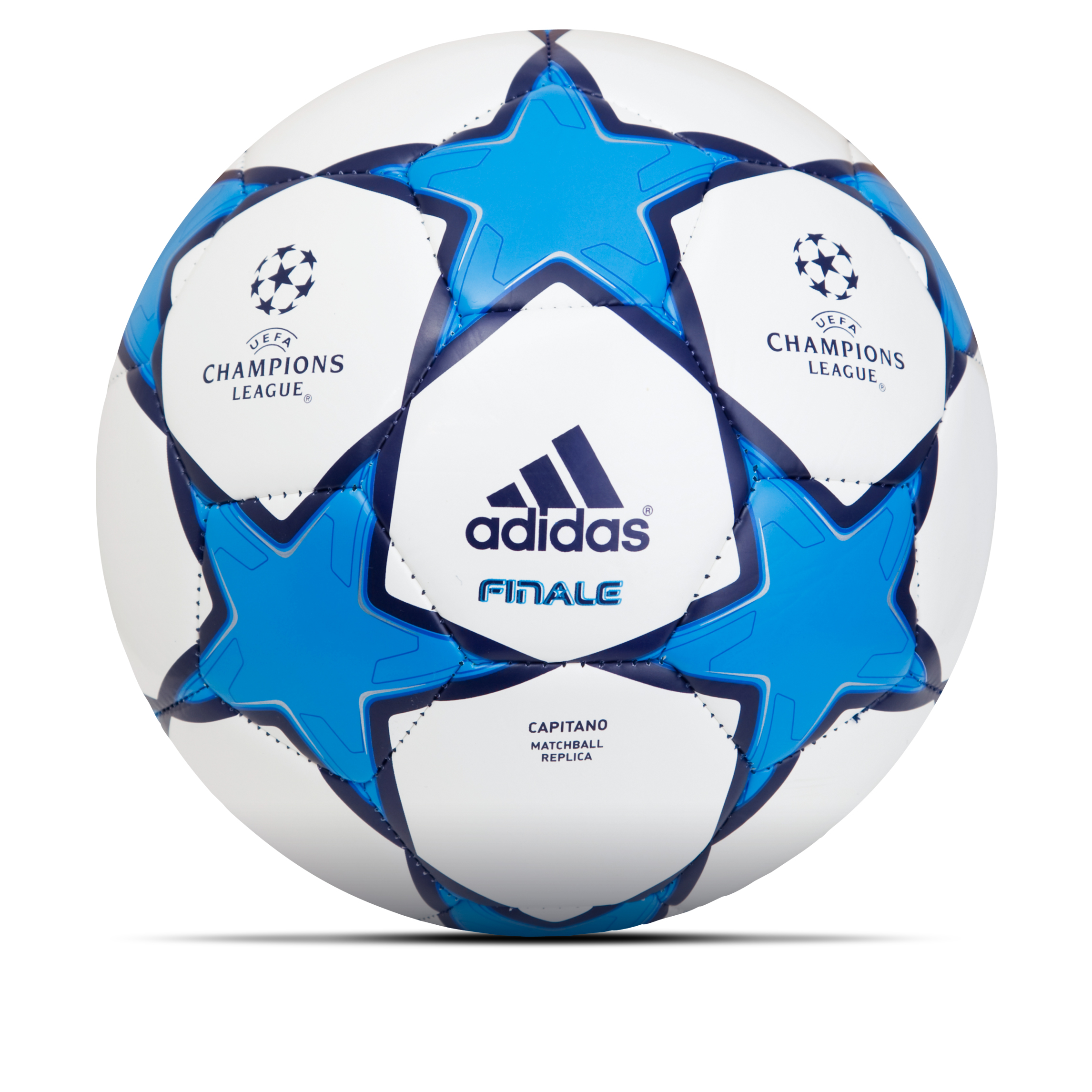 adidas Finale 10 Capitano Football - White/Cyan S09/Night Sky