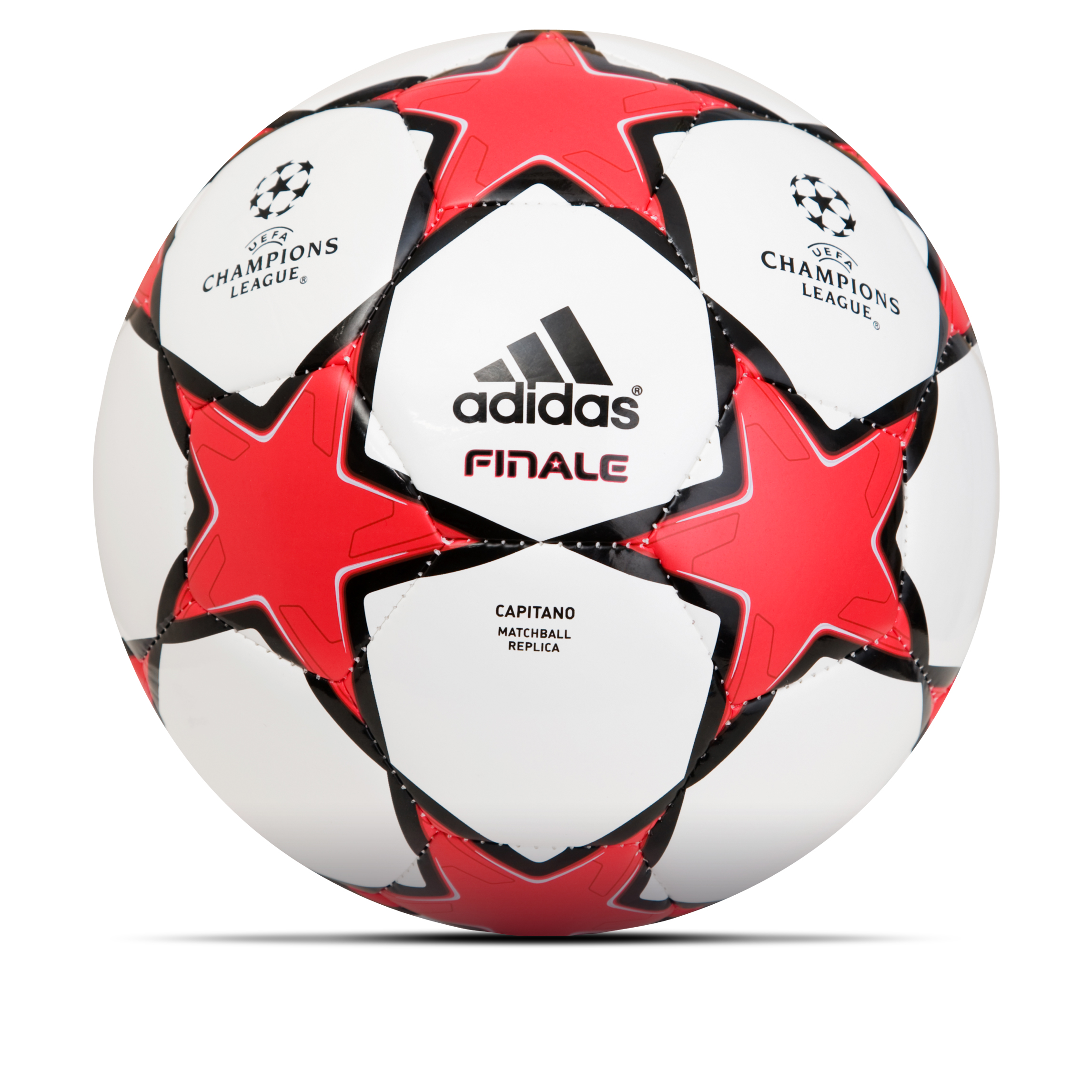 adidas Finale 10 Capitano Football - White/Radiant Red/Black