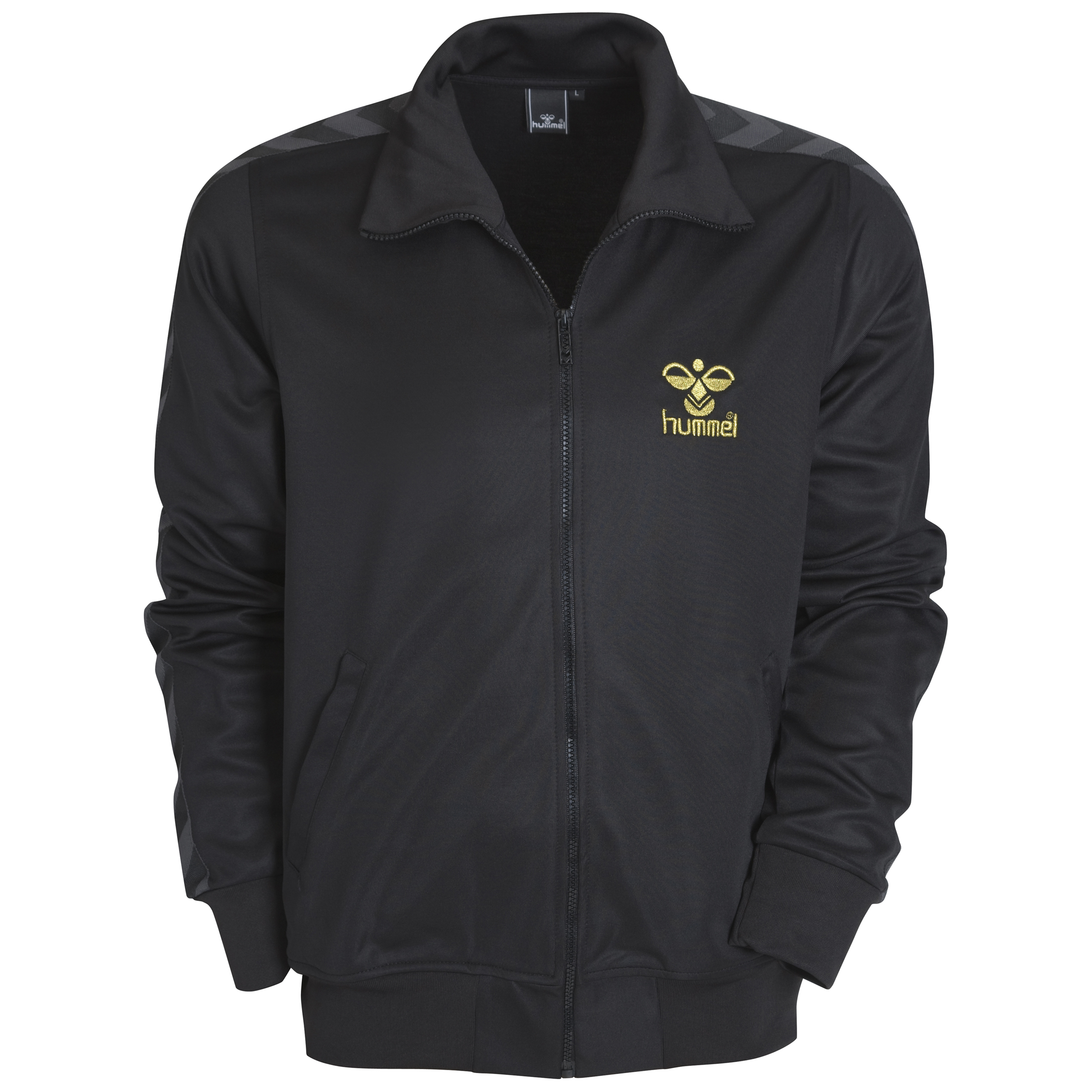 Hummel Antlantic Zip Jacket - Black/Gold