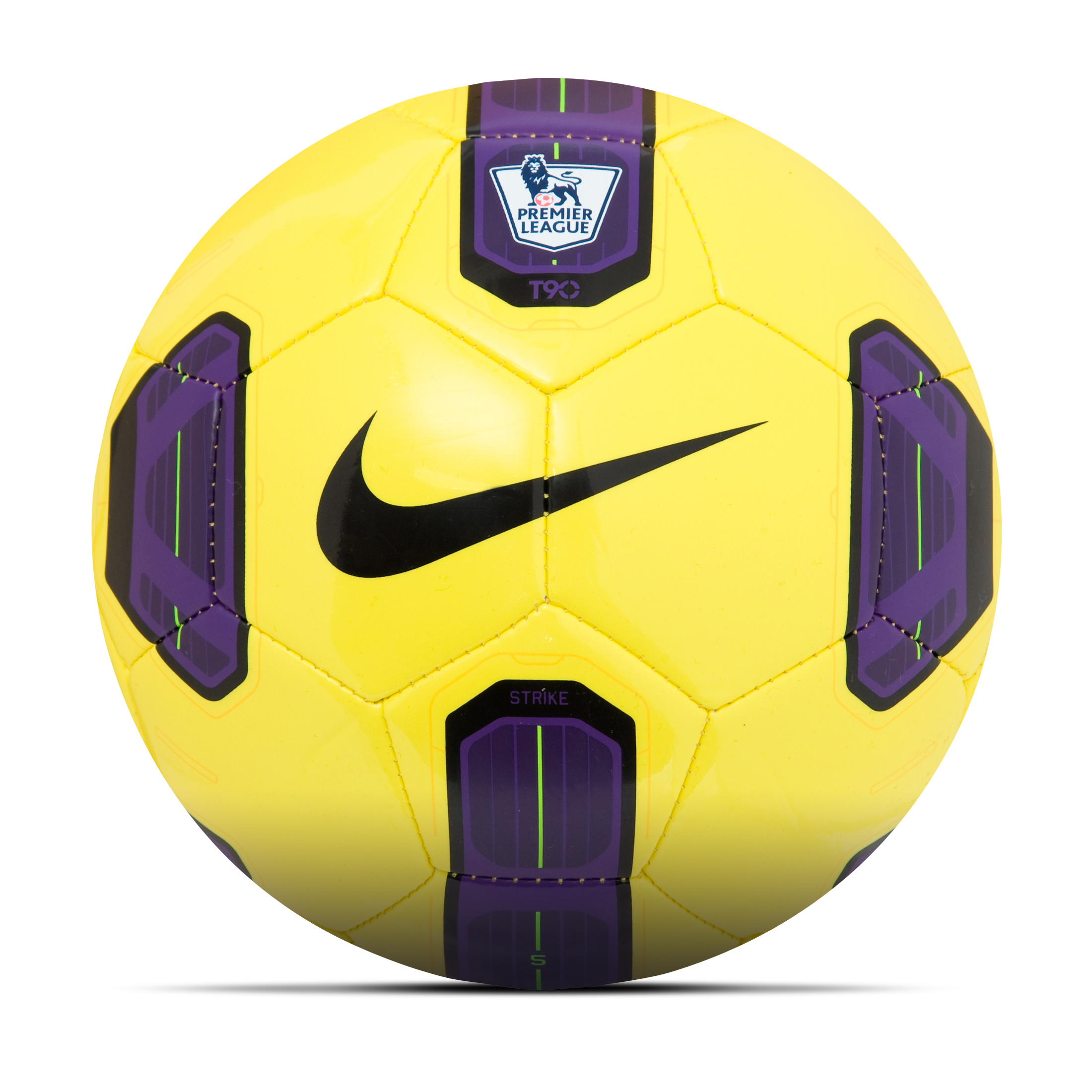 Nike Total90 Strike Hi-Vis Premier League Football - Size 5