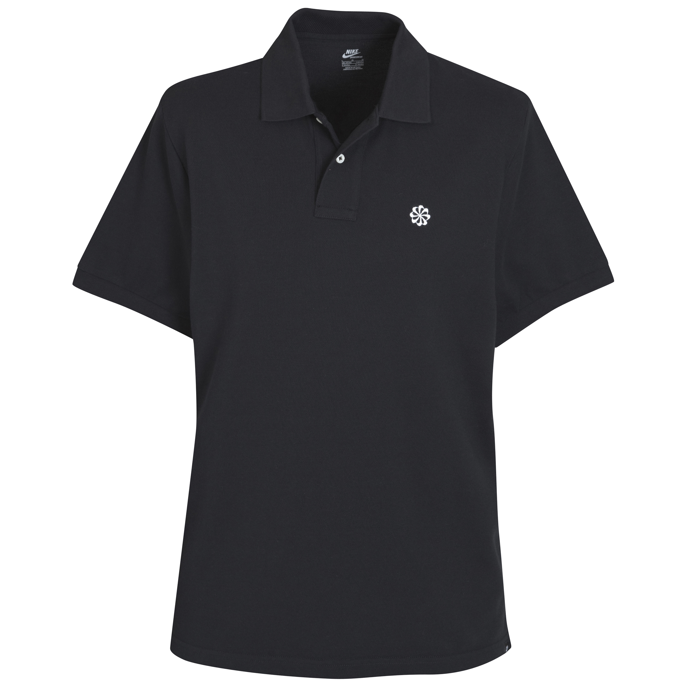 Nike Grand Slam Pique Polo Shirt - Black