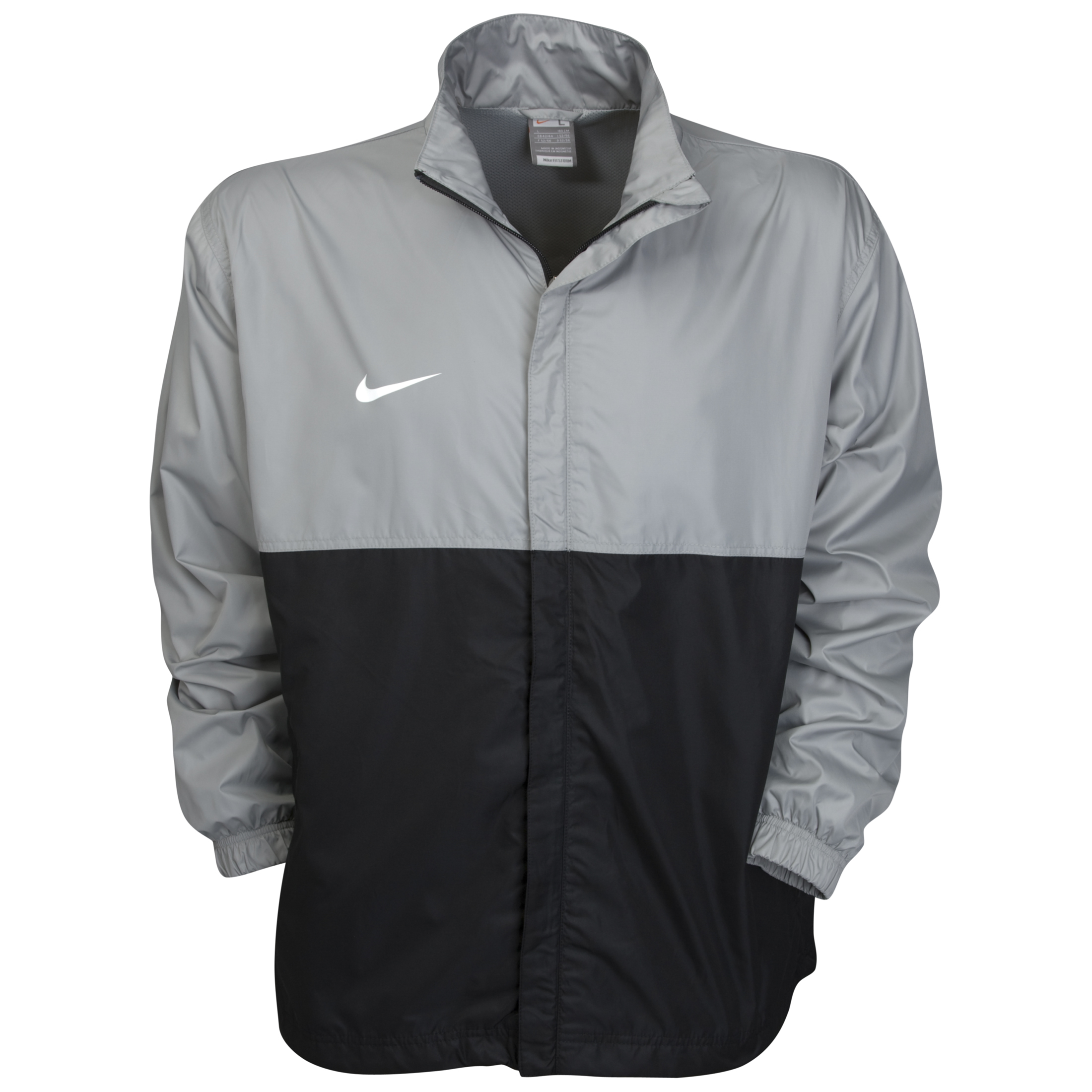 Nike Club Clima-Fit Rain Jacket - Silver/Black/White