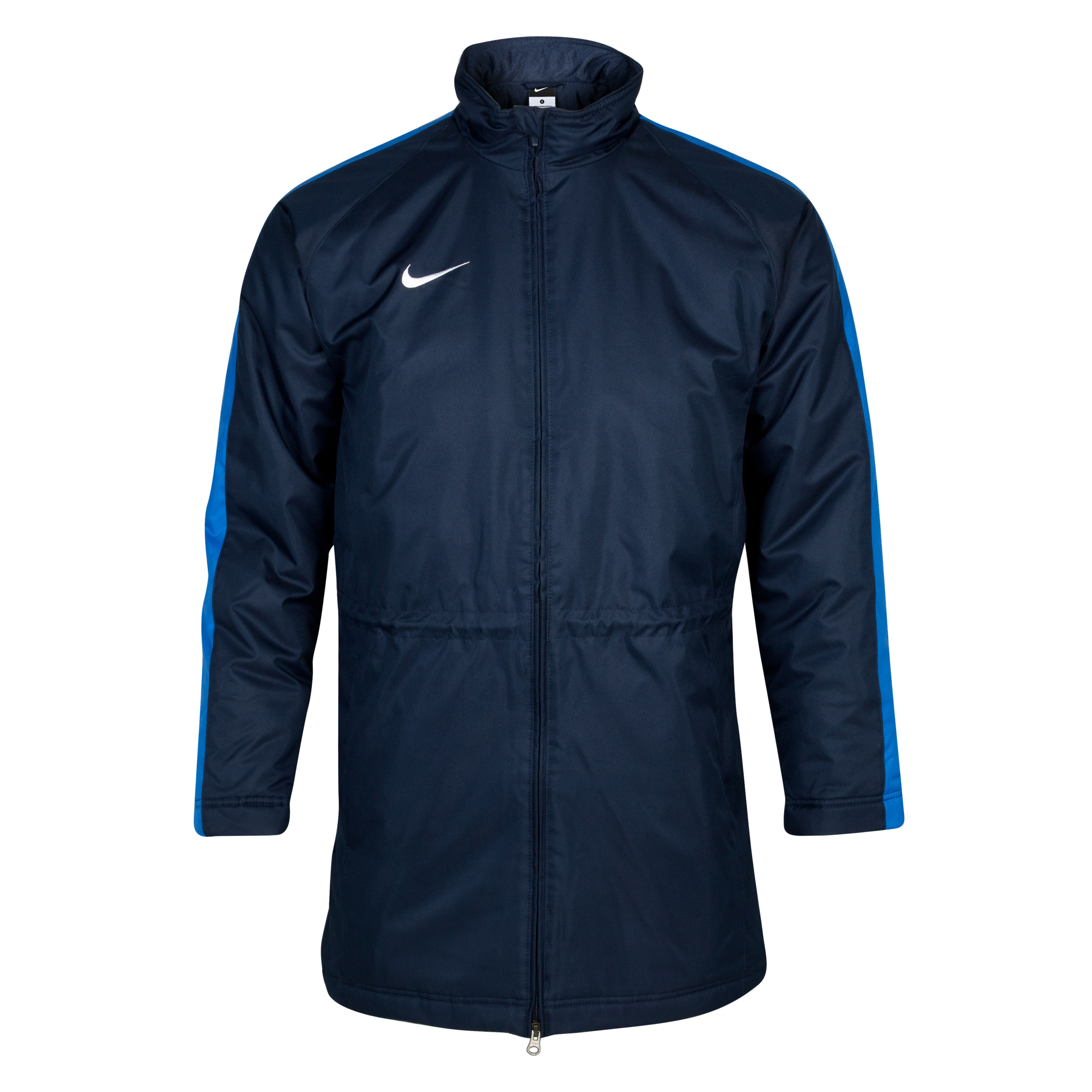 Nike Team Longer Winter Jacket - Obsidian/Royal Blue/White