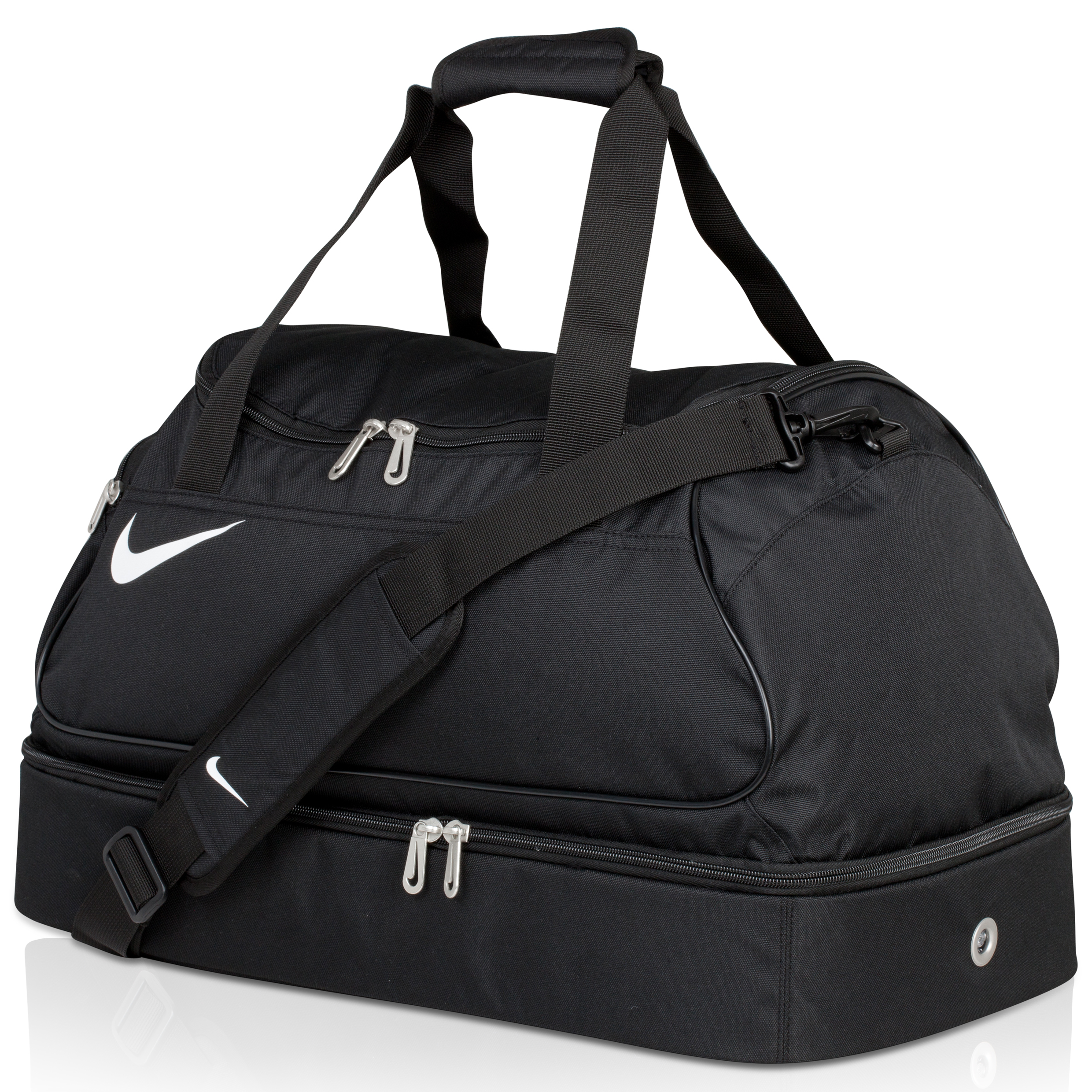 Nike Team Sales Medium Hardcase - Black/Black/(White)