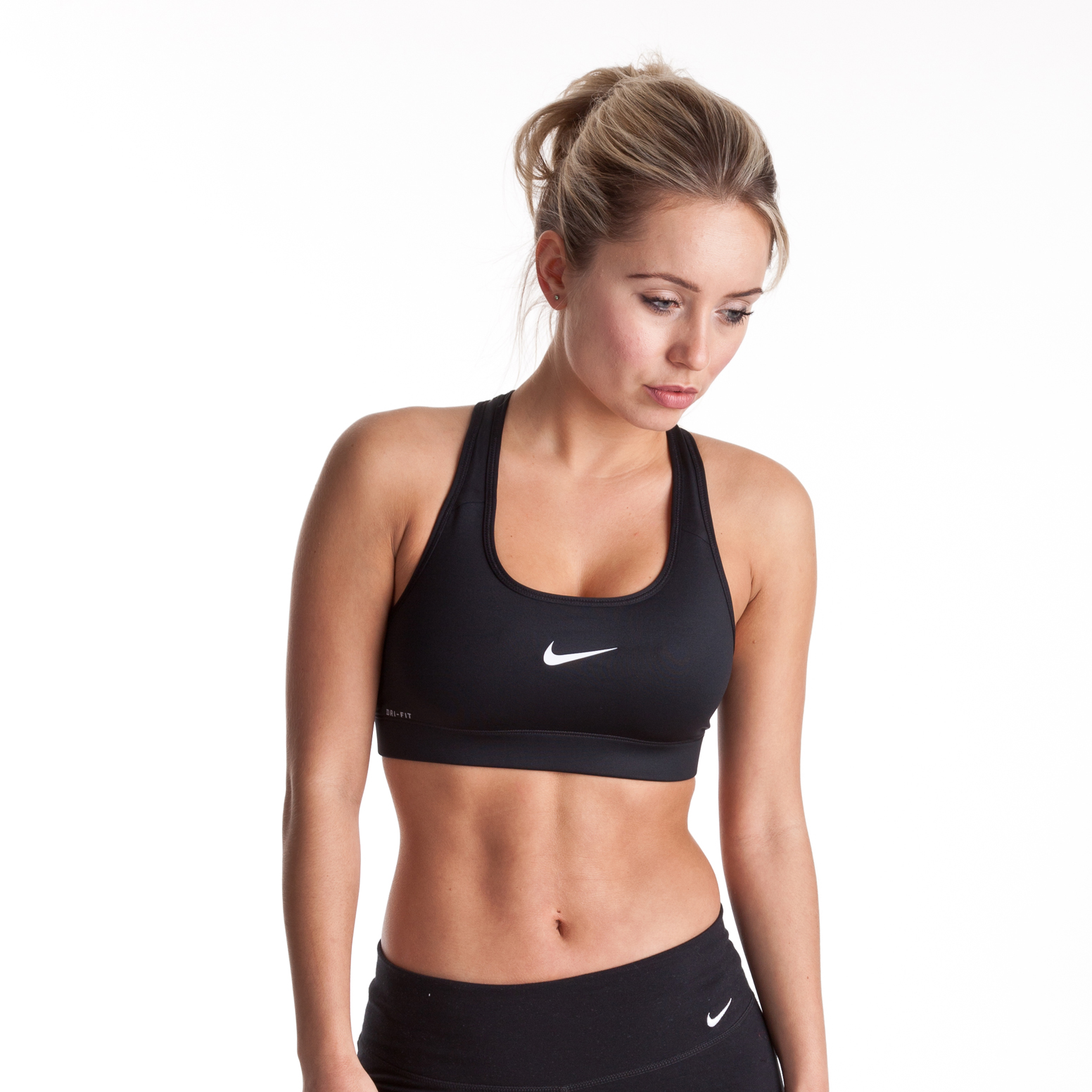 Nike Pro Bra - Black - Womens