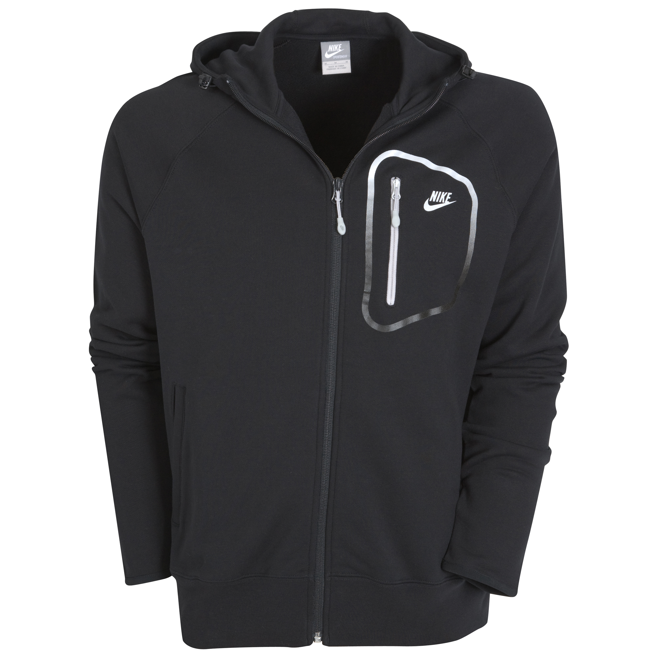 Nike Tech Full Zip Hoodie - Black/Tech Grey