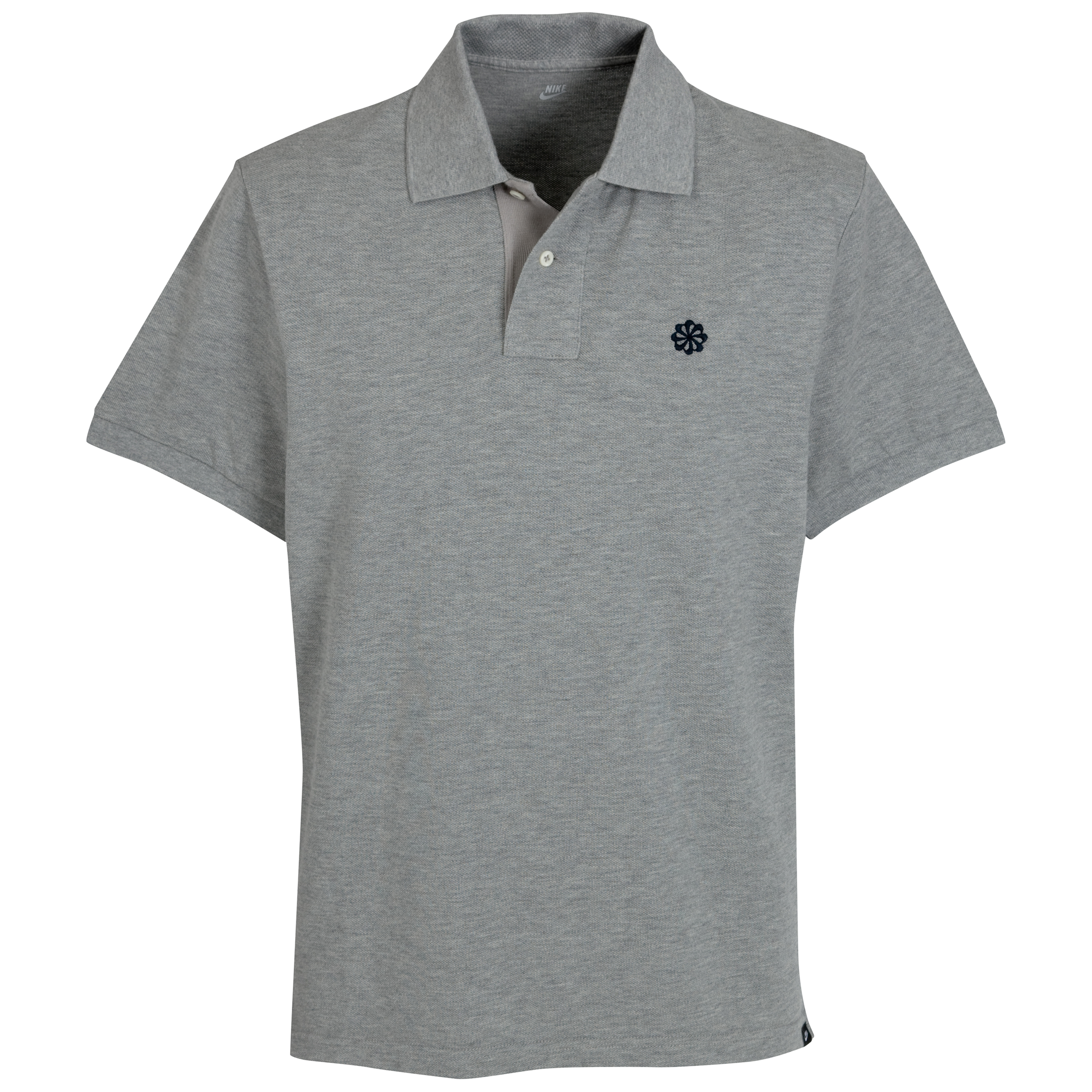 Nike Grand Slam Pique Polo Shirt - Dark Grey Heather/Dark Obsidian