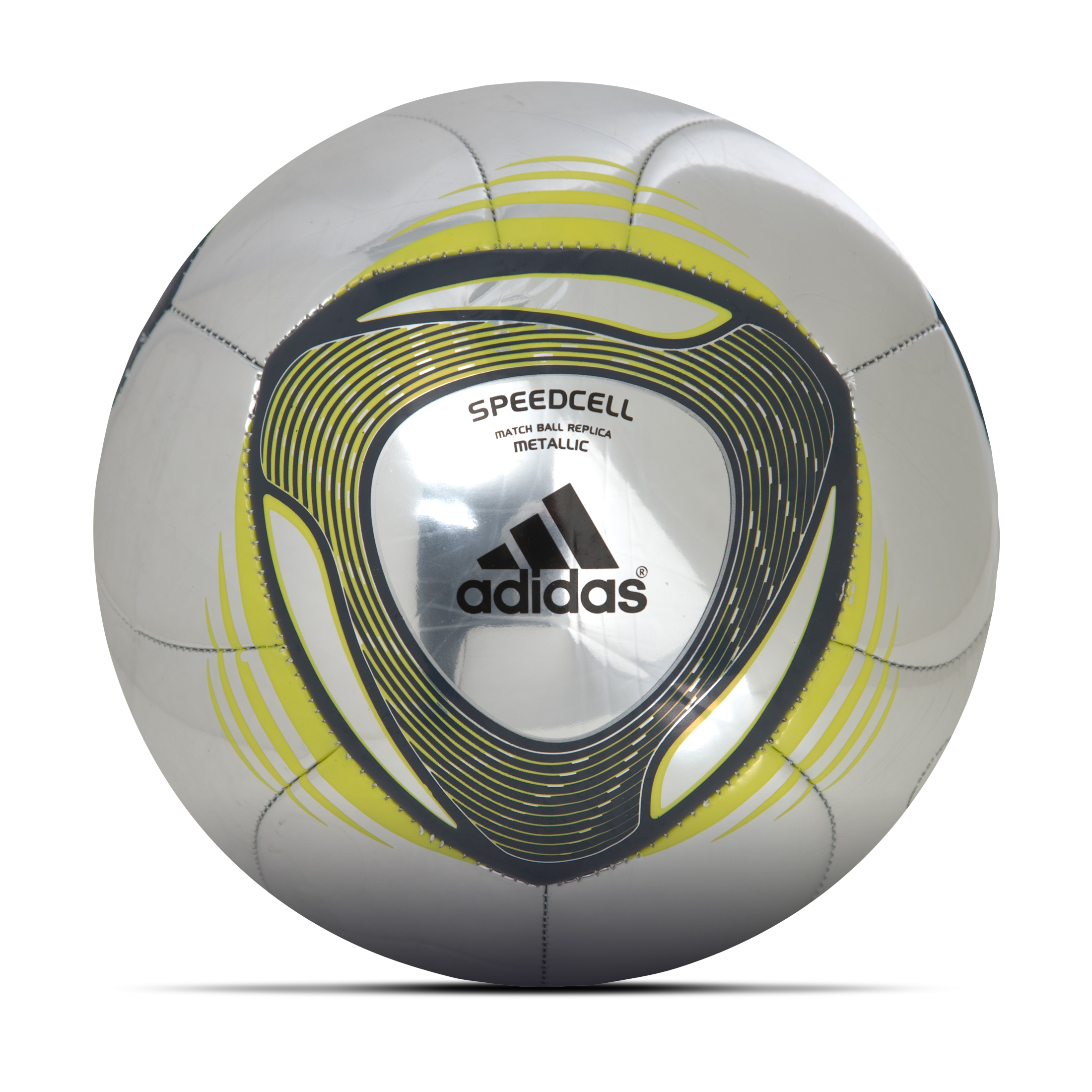 adidas 2011 Metallic Football - Metallic Silver/Dark Shale/Lemon Peel