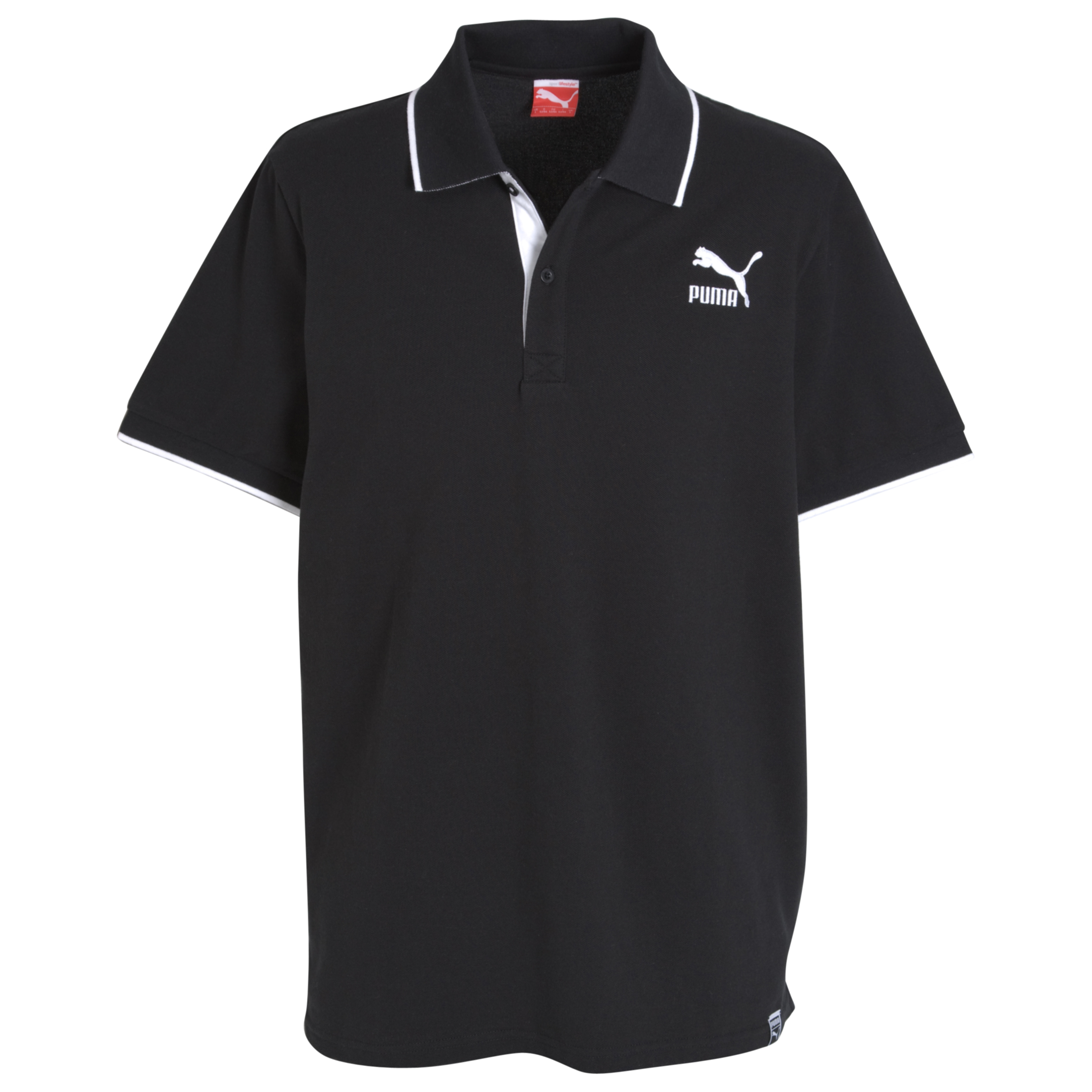 Puma Heroes Polo Shirt - Black