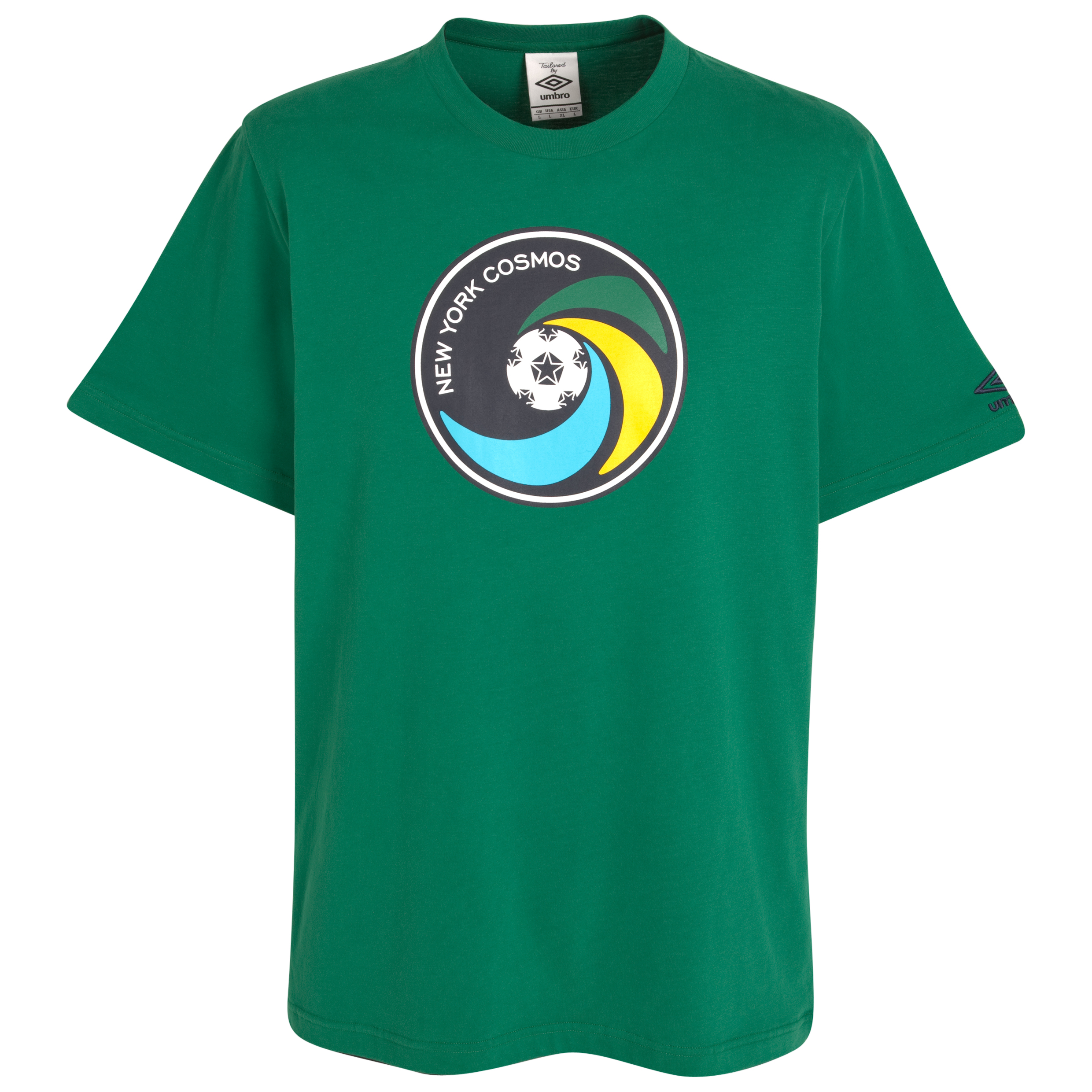 New York Cosmos Badge T-Shirt - Pine Green