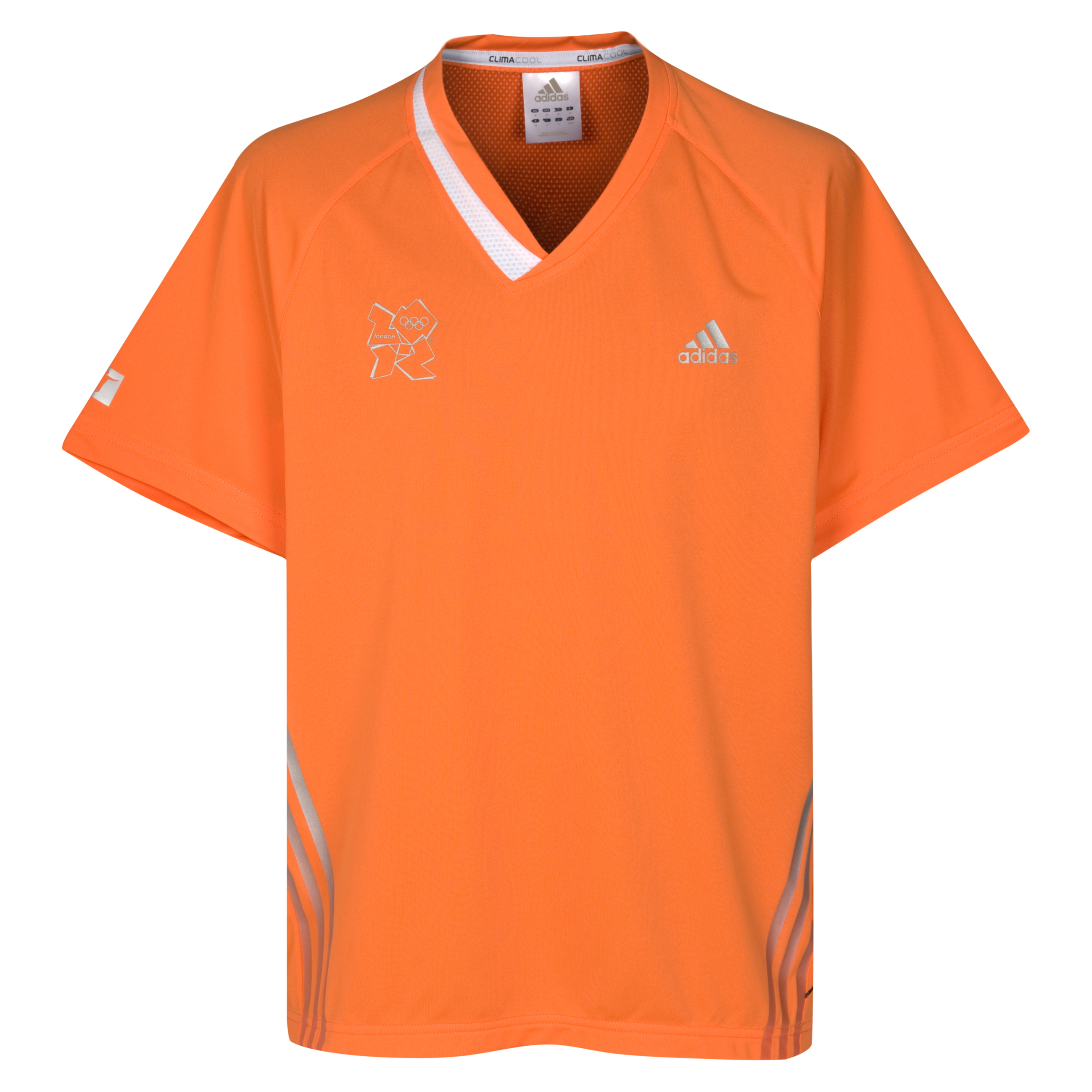 adidas London 2012 Football Jersey Locog Burnt Orange/White