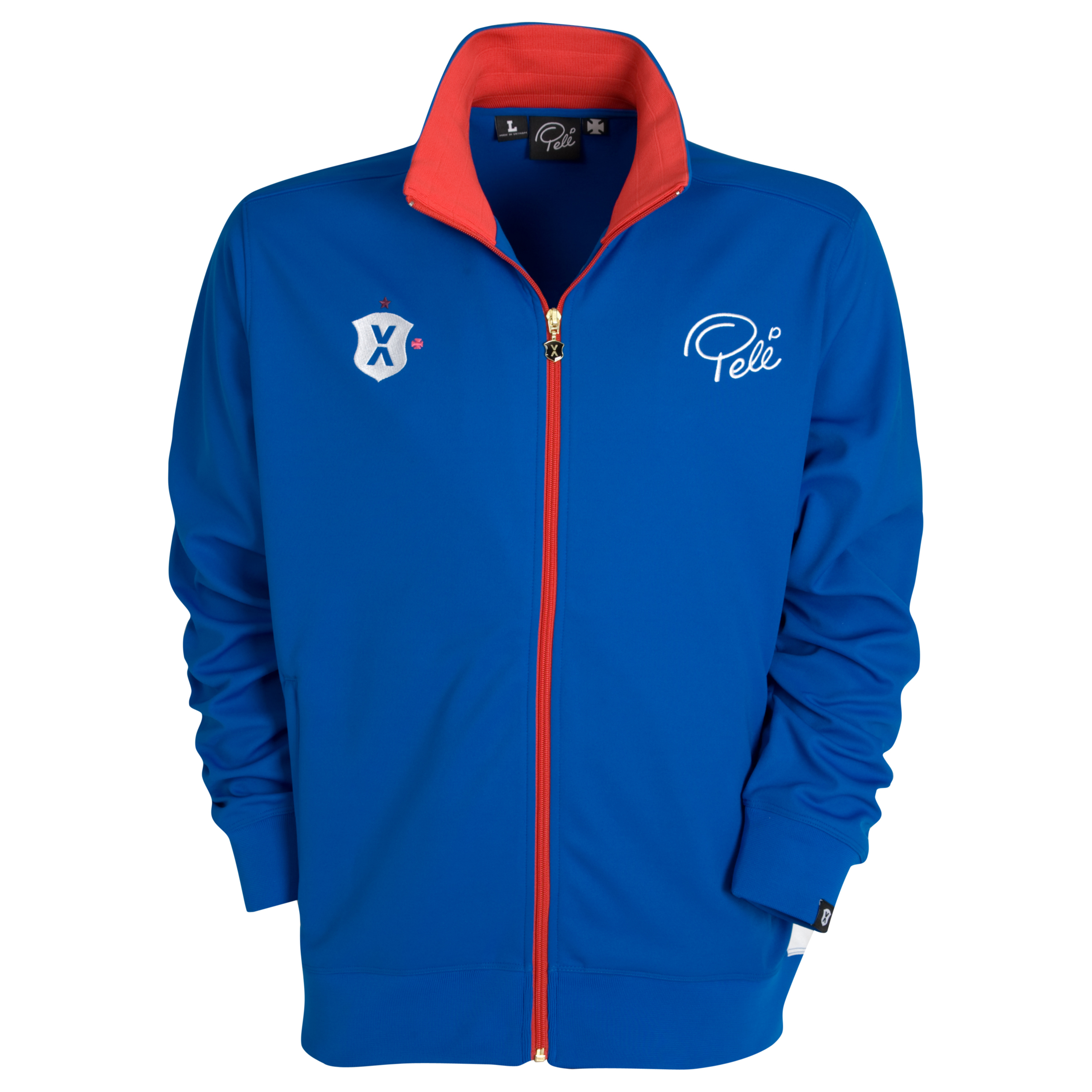 Pele Pel? Sports Full Zip Track Top - Princess Blue