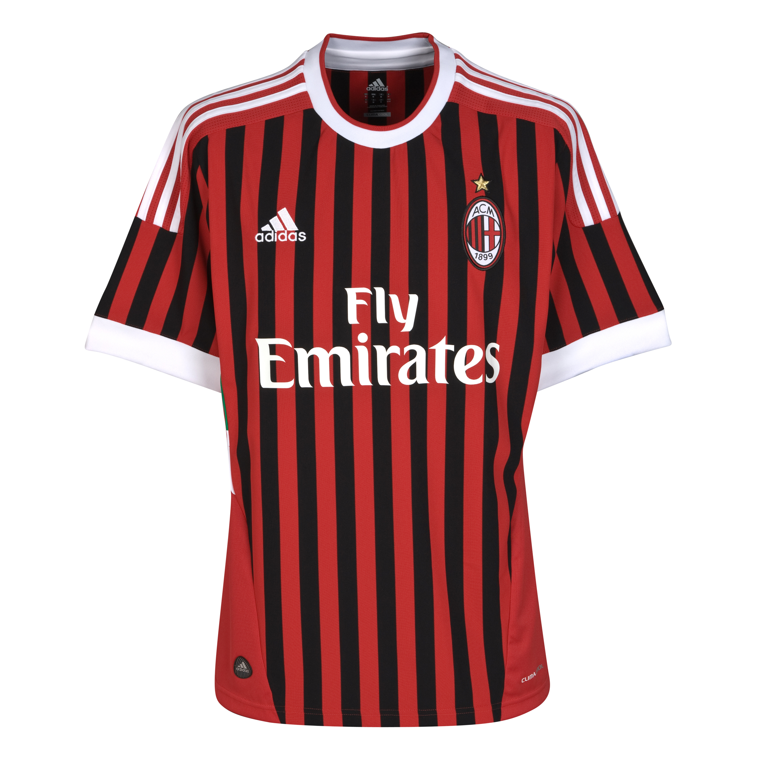 AC Milan Home Shirt 2011/12 - Kids