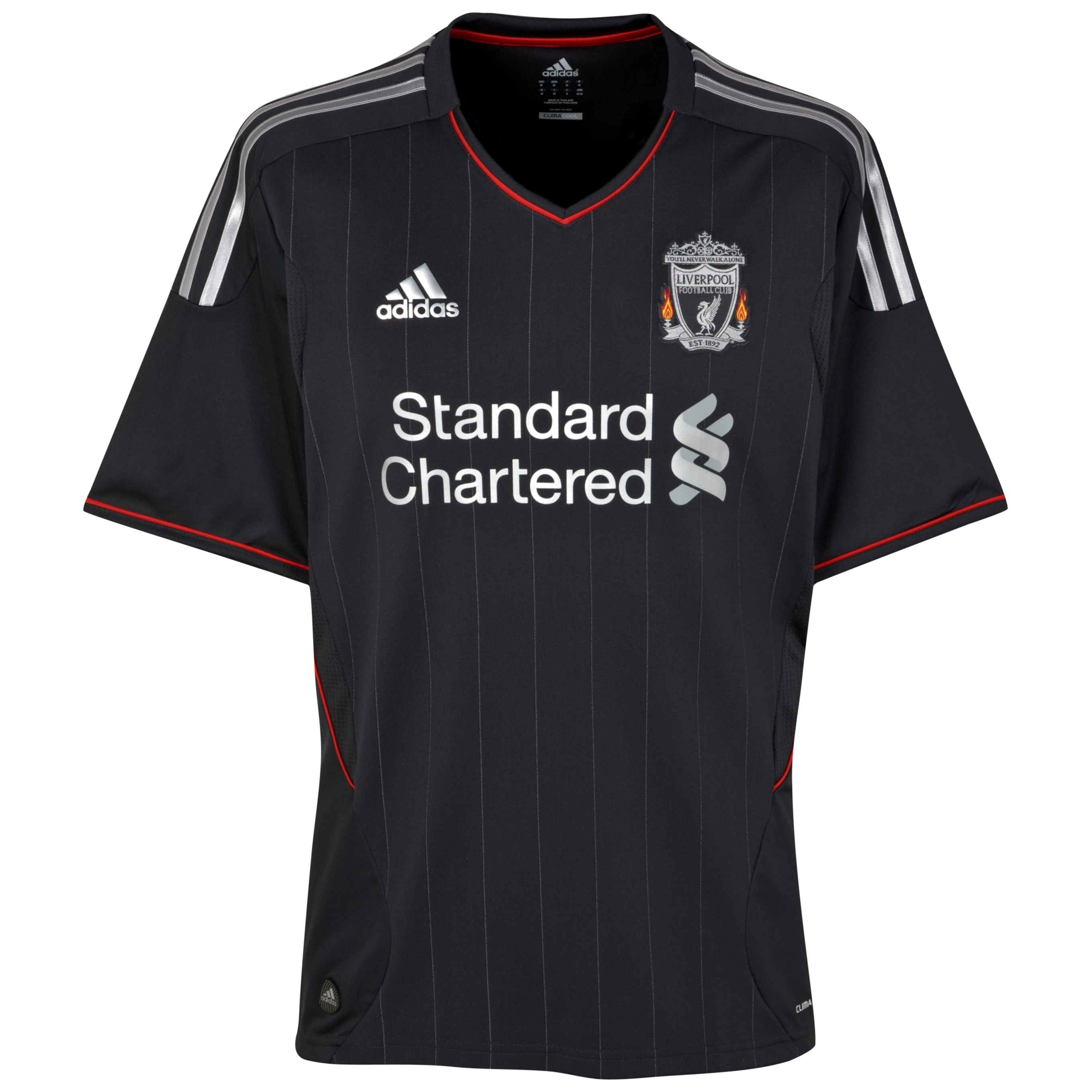Liverpool Away Shirt 2011/12 - Kids with Johnson 2 printing