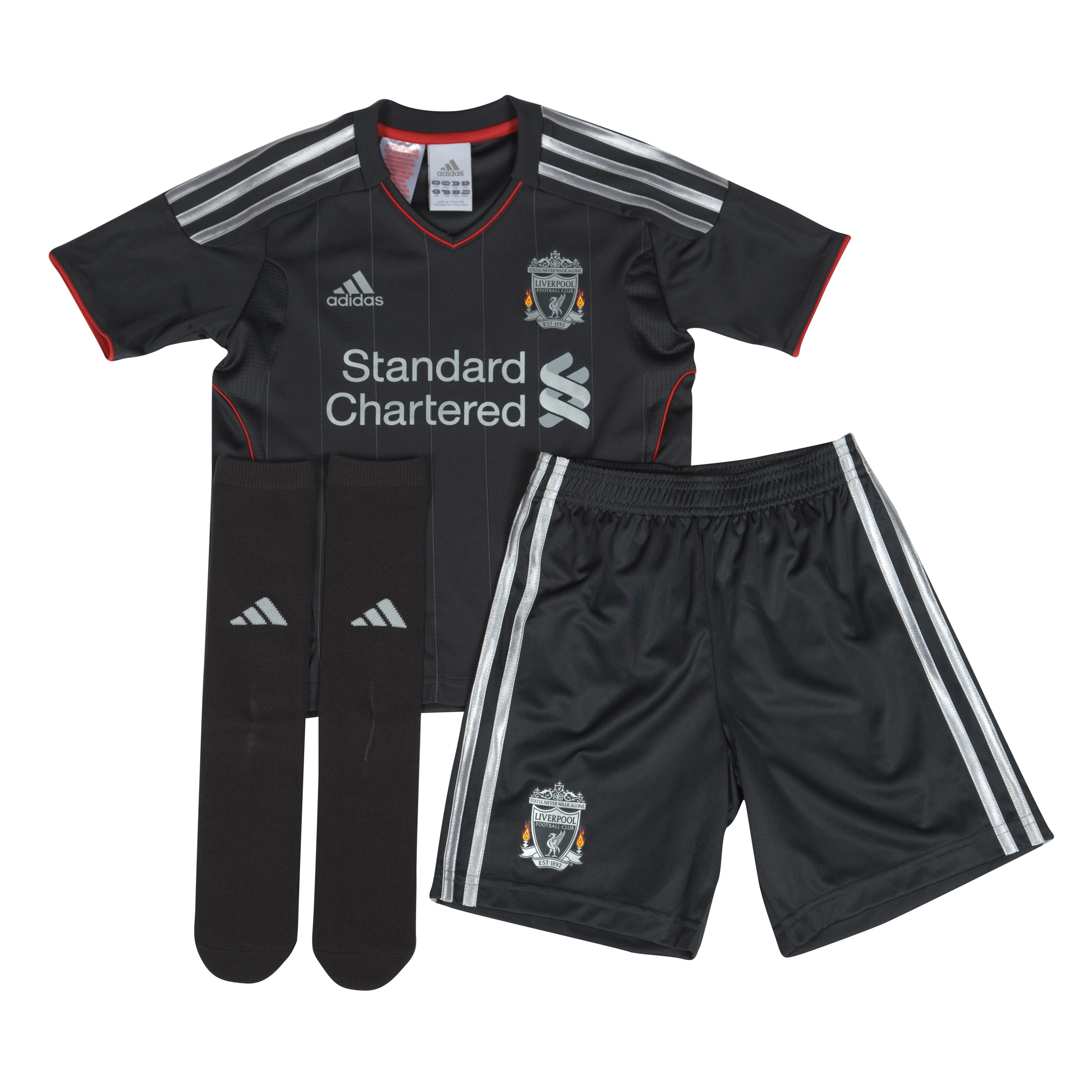 Liverpool Away Mini Kit 2011/12 Infants