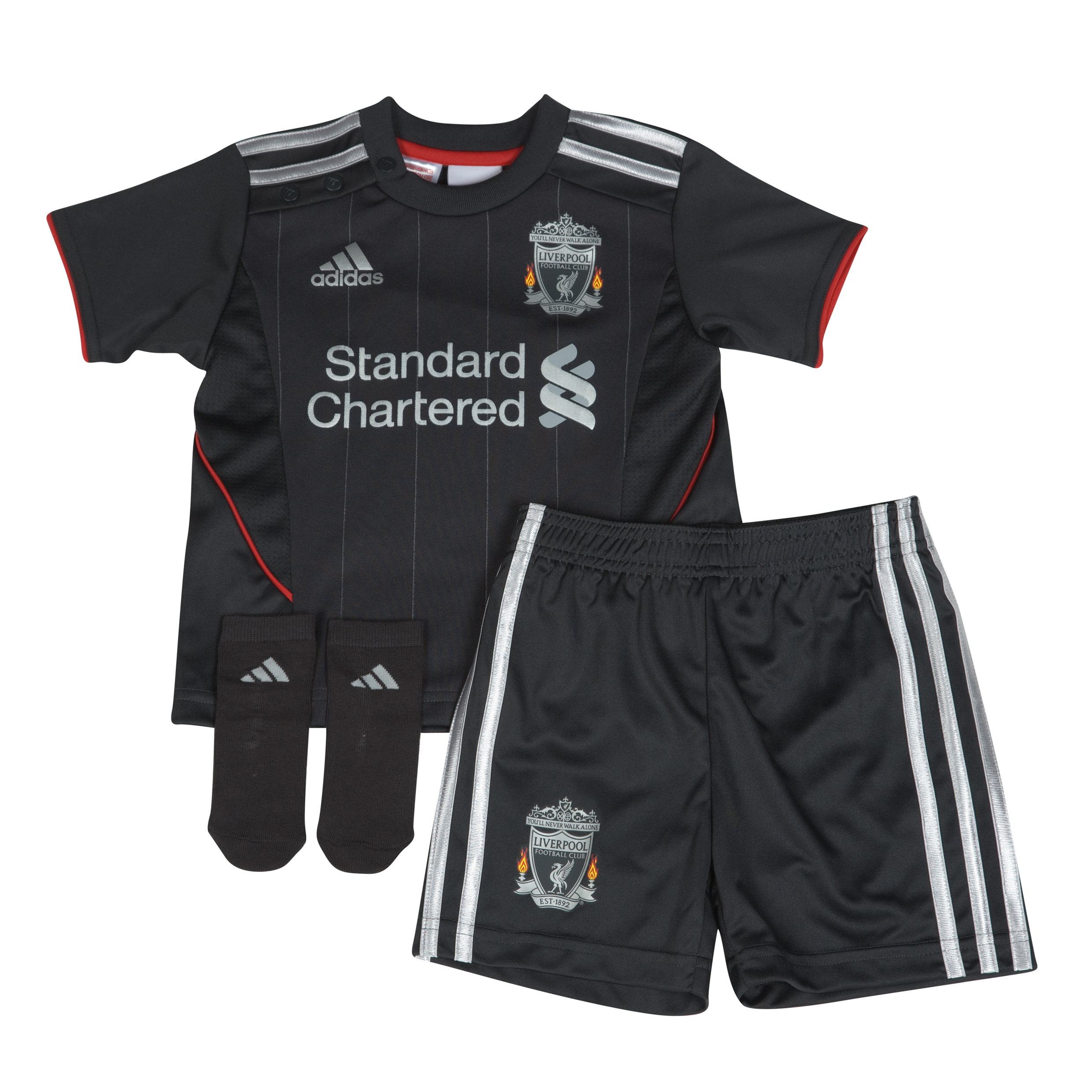 Liverpool Away Baby Kit 2011/12 Baby