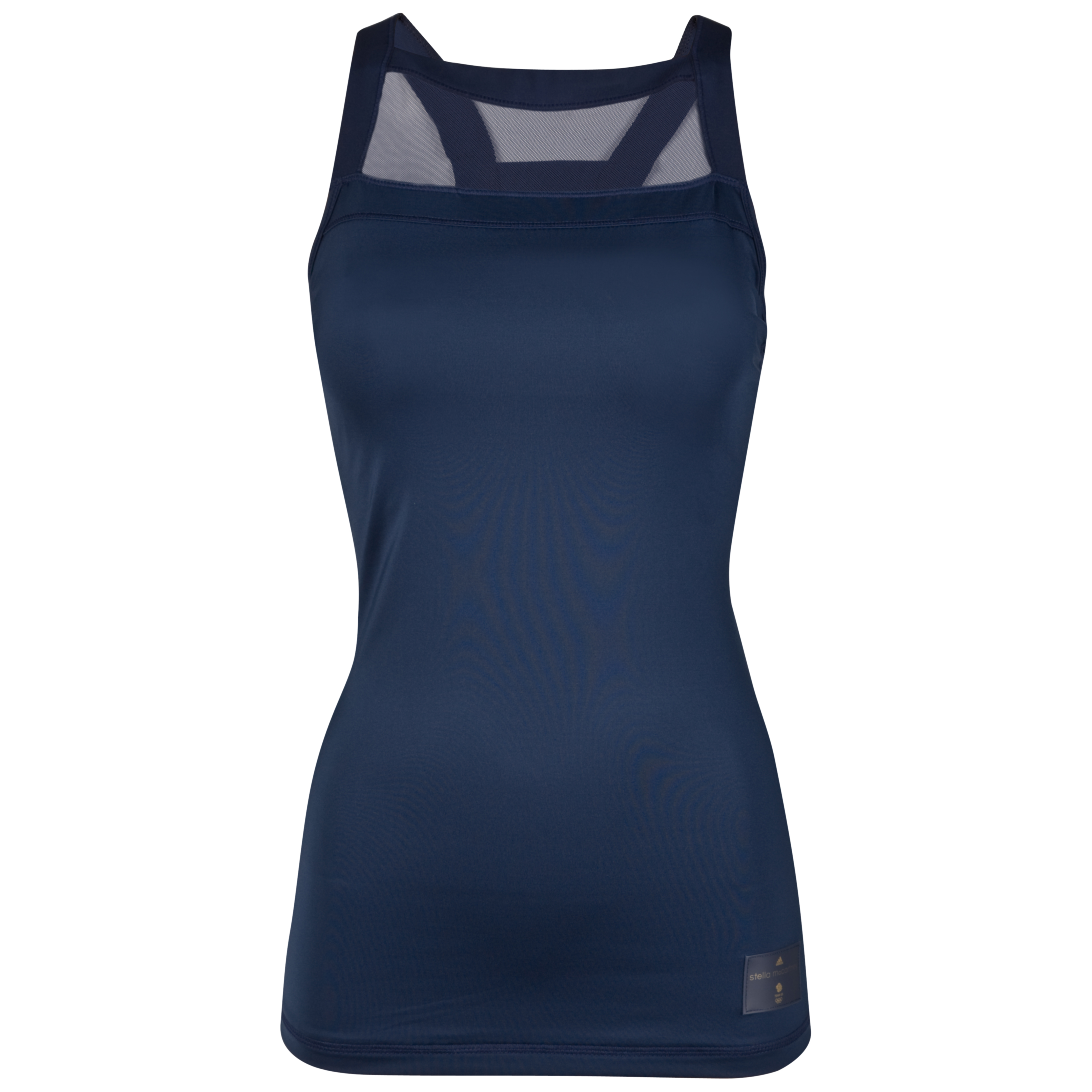 adidas Team GB Running Tank - Dark Indigo/Solid Blue - Womens